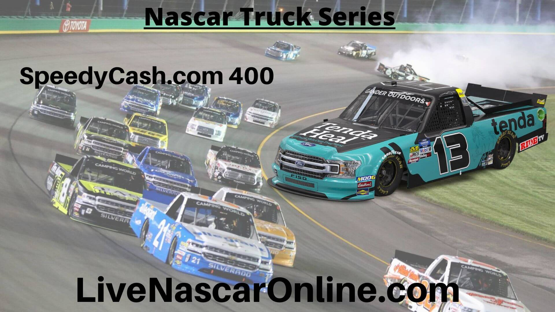 SpeedyCash com 400 Online Stream | NASCAR Texas 2020