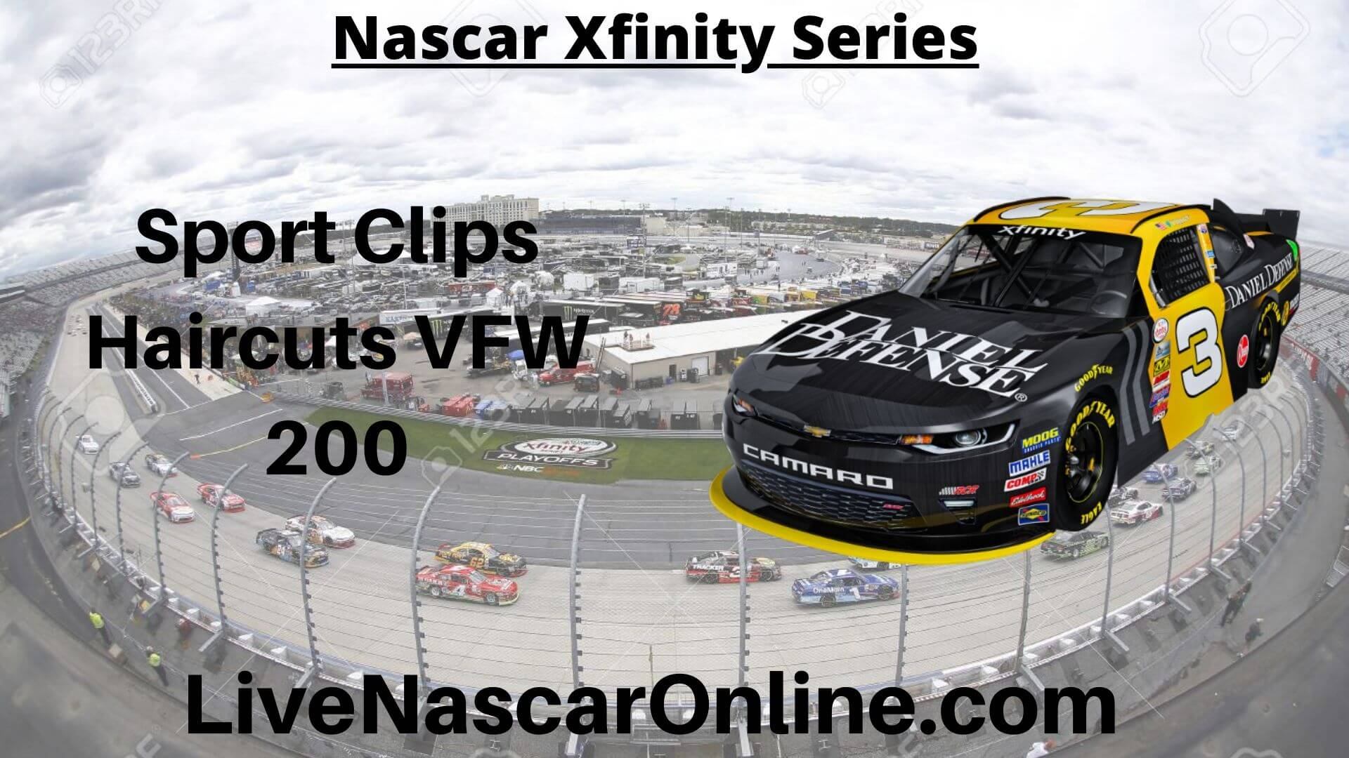Sport Clips Haircuts VFW 200 Online Stream | NASCAR Darlington 2020