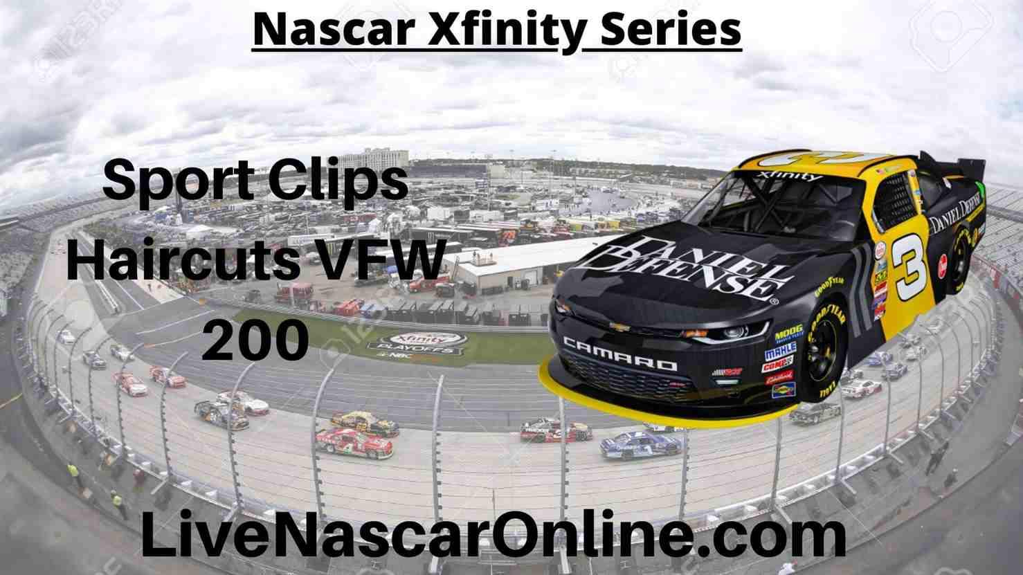 Sport Clips Haircuts VFW 200 Online Stream | NASCAR Darlington 2020