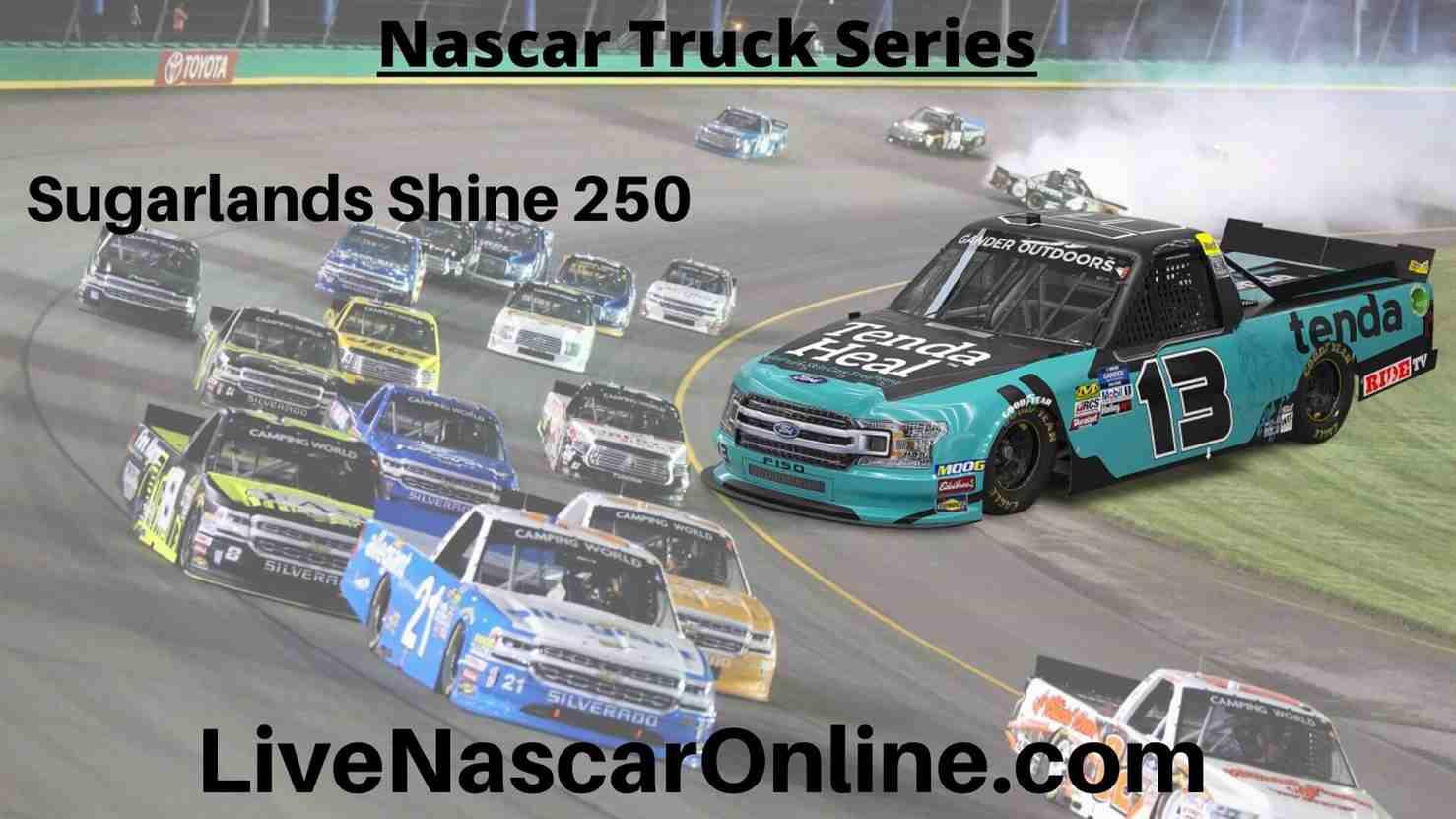 Sugarlands Shine 250 Online Stream | NASCAR Talladega 2020