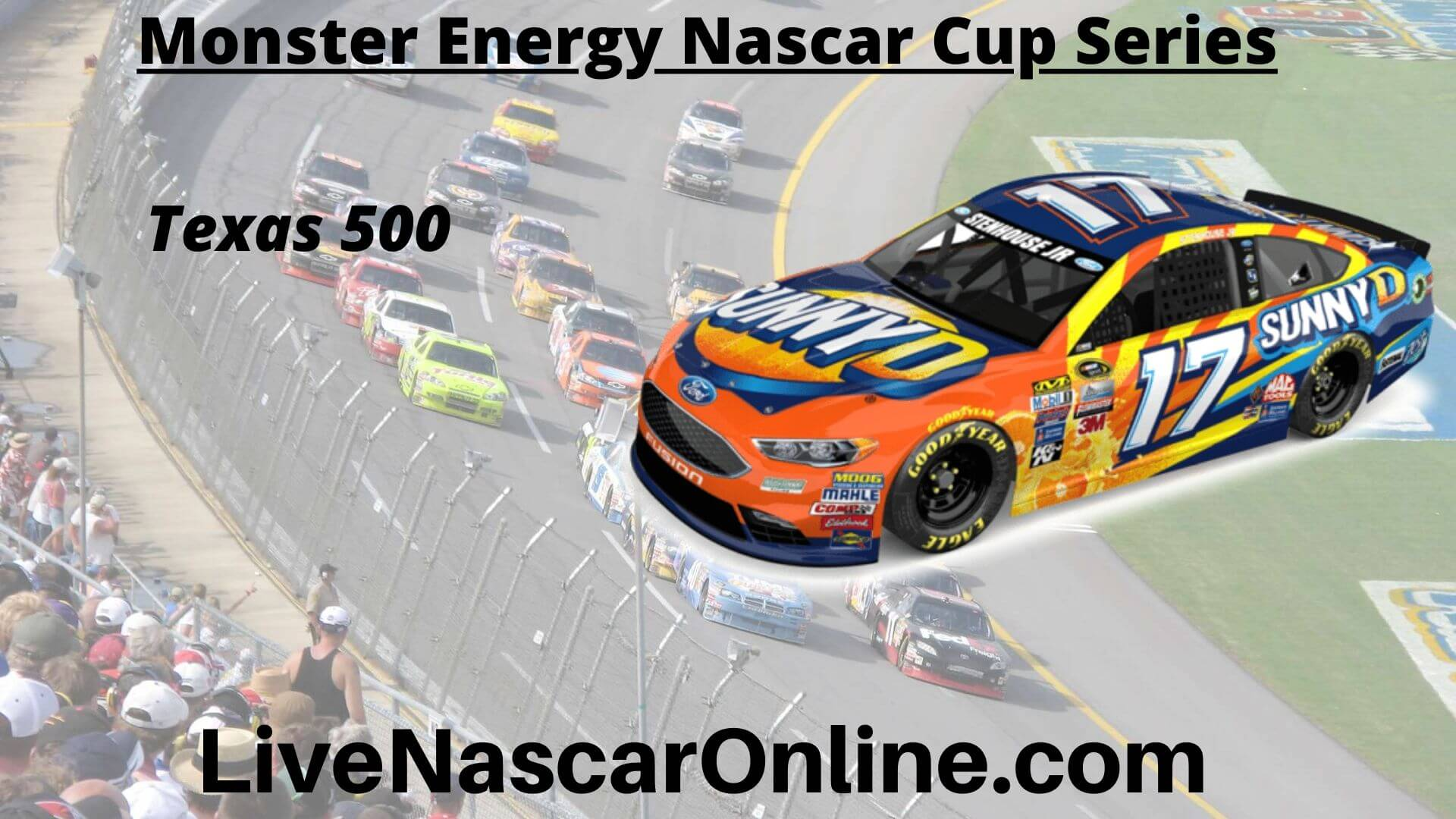 Texas 500 Online Stream | NASCAR Texas 2020