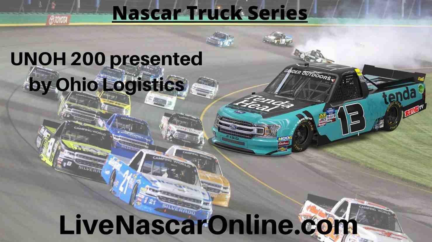 UNOH 200 Online Stream | NASCAR Bristol 2020