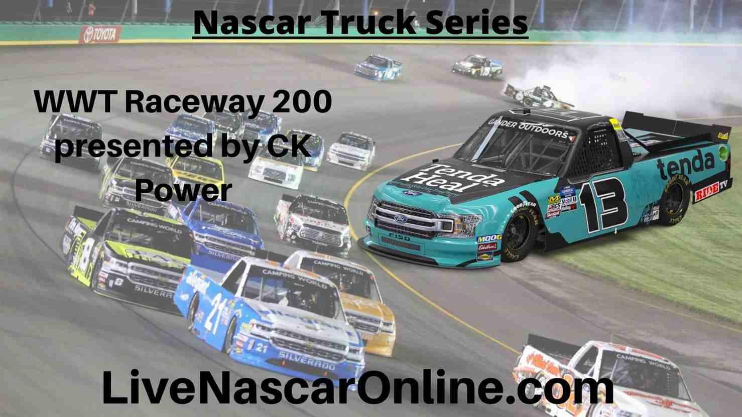 WWT Raceway 200 Online Stream | NASCAR World Wide 2020