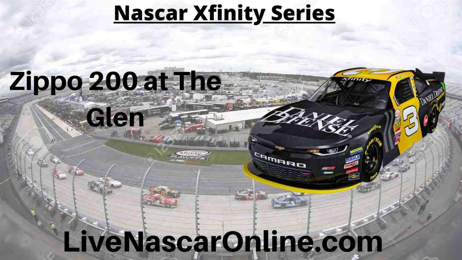 Zippo 200 at The Glen Online Stream | NASCAR Watkins Glen 2020