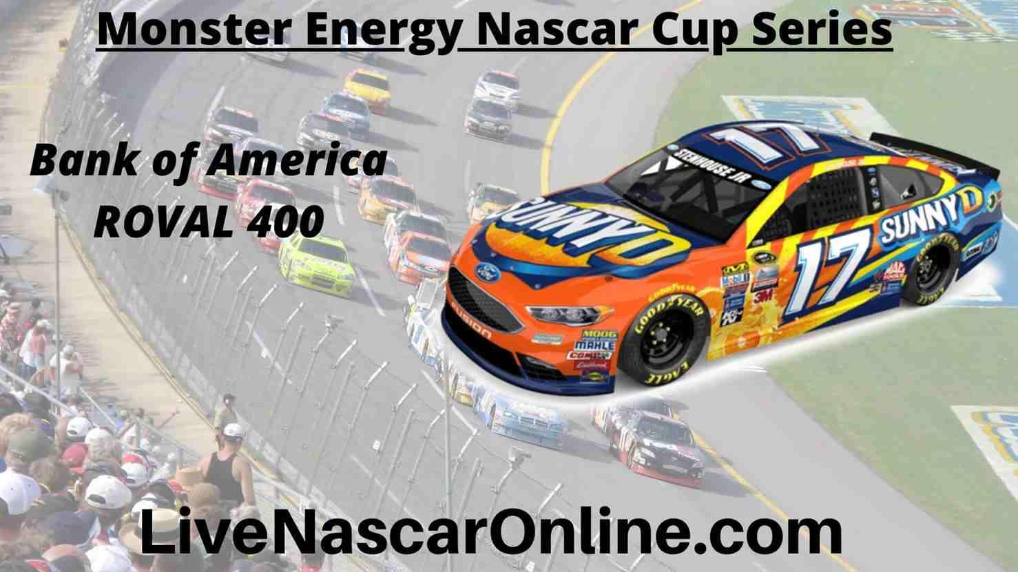 Bank of America ROVAL 400 Online Stream | NASCAR Charlotte 2020