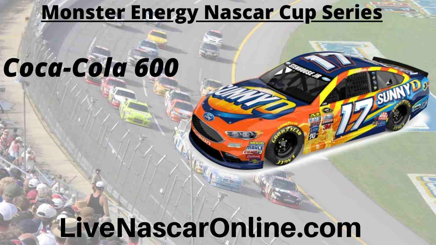 Coca Cola 600 Online Stream | NASCAR Charlotte 2020