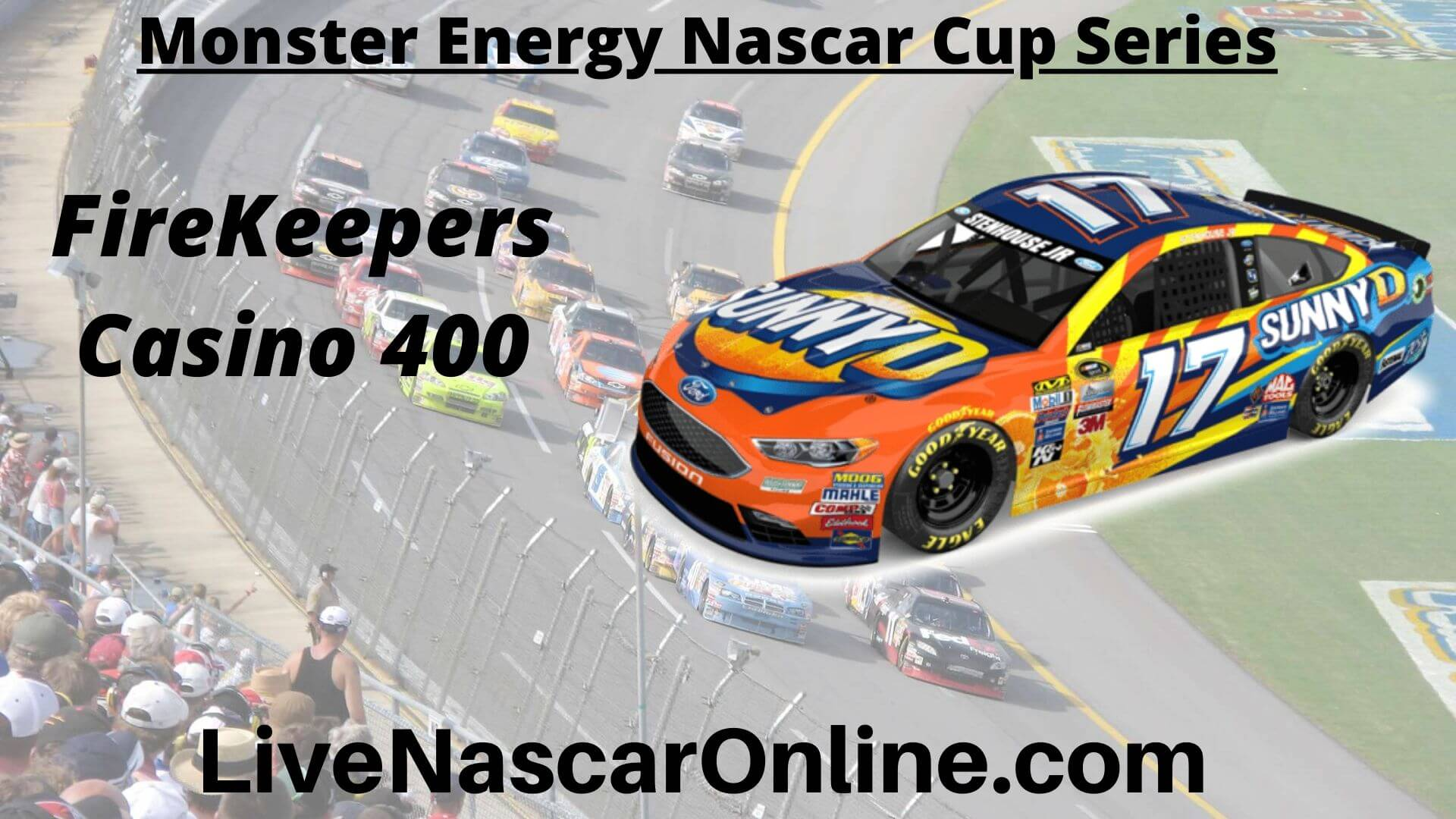 FireKeepers Casino 400 Online Stream | NASCAR Michigan 2020