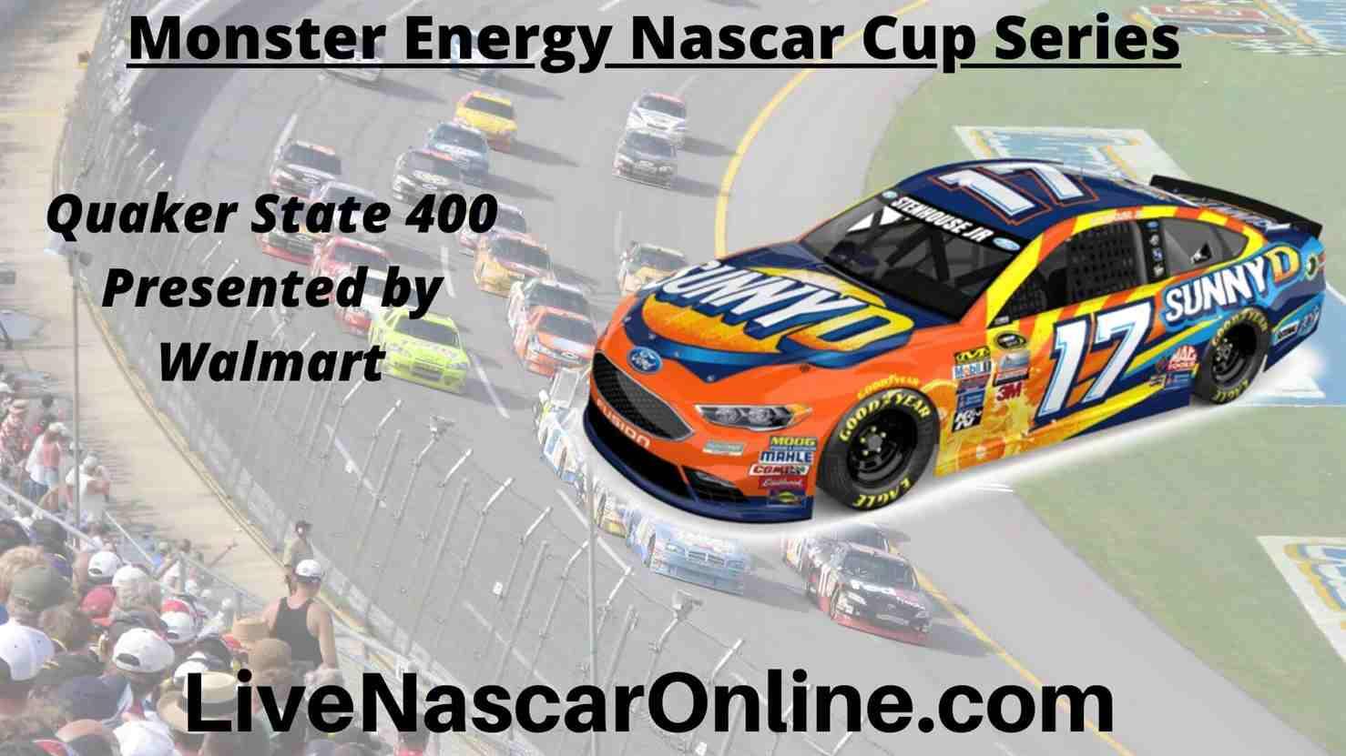 Quaker State 400 Online Stream | NASCAR Kentucky 2020