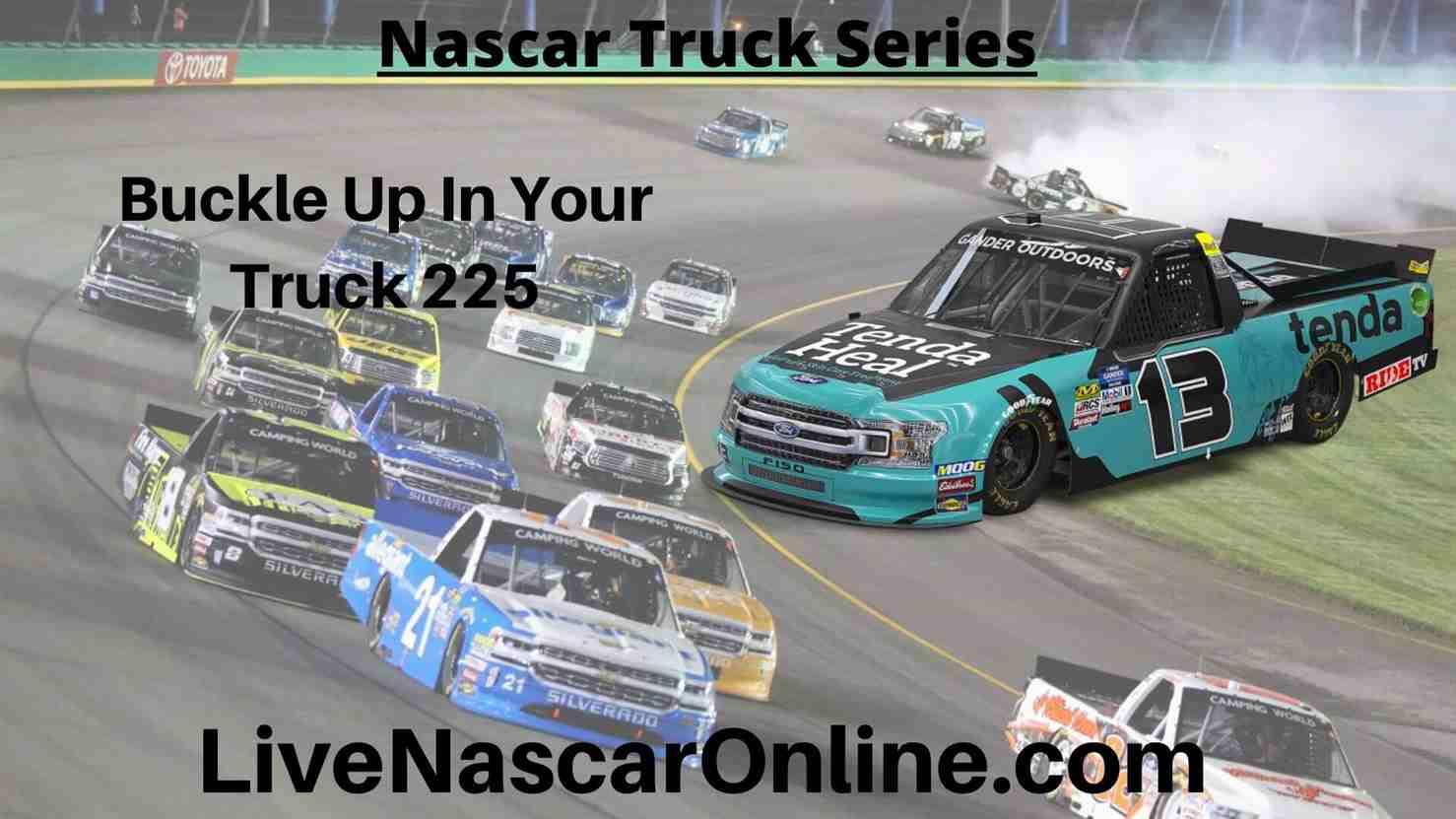 Buckle Up In Your Truck 225 Online Stream | NASCAR Kentucky 2020