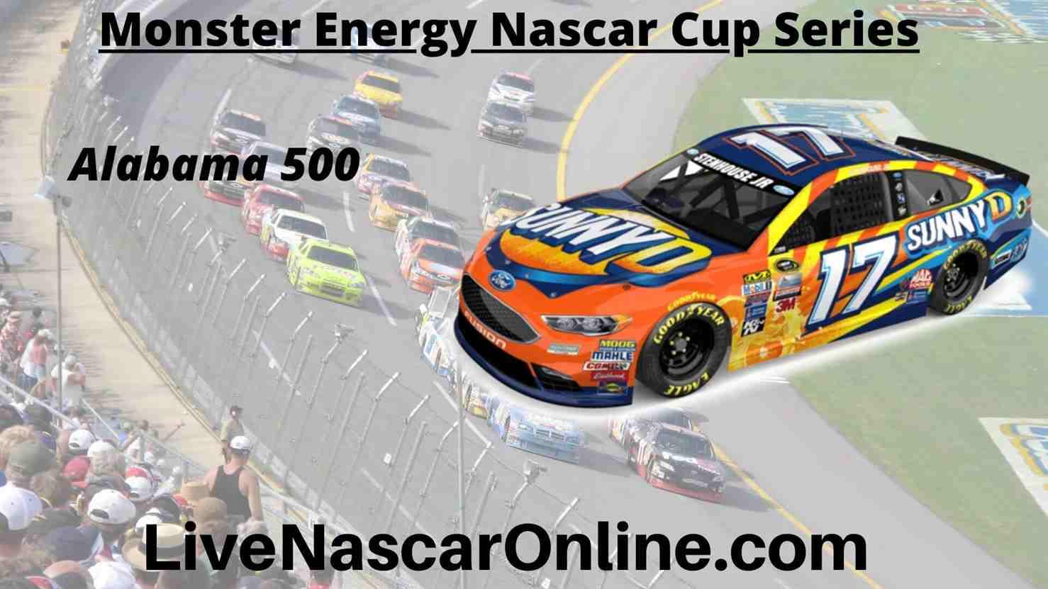 Alabama 500 Online Stream | NASCAR Talladega 2020