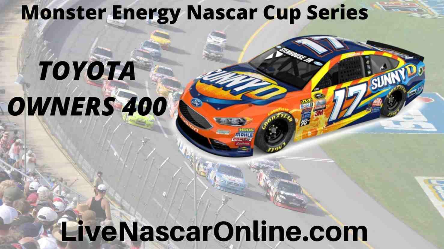 TOYOTA OWNERS 400 online Stream | NASCAR Richmond 2020