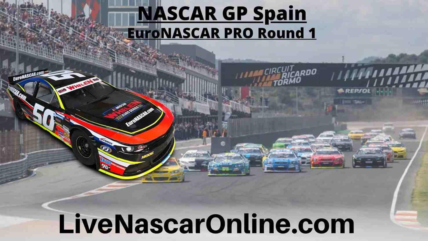 NASCAR GP Spain Online Stream | Euro NASCAR PRO Round 1