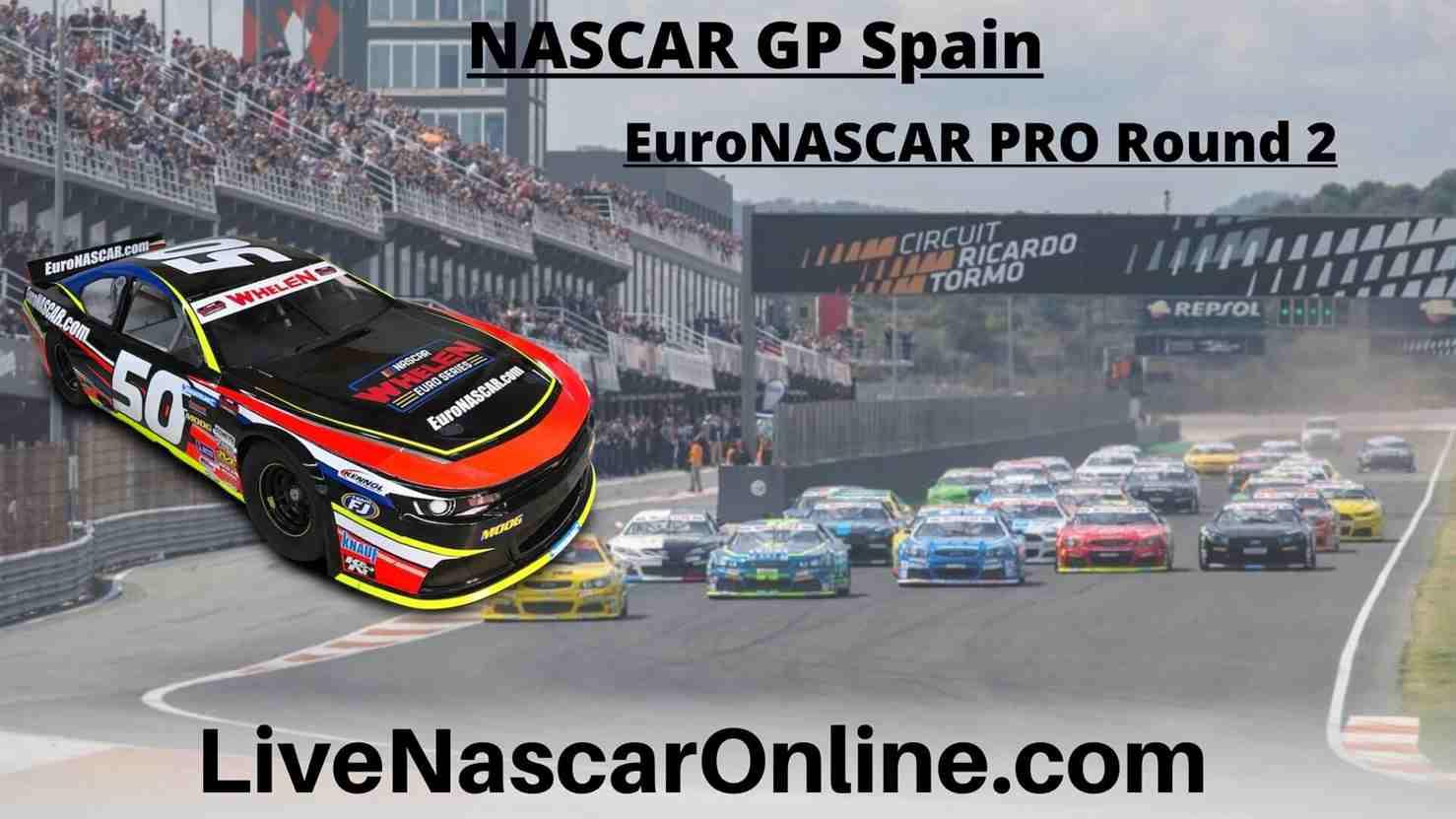 NASCAR GP Spain Online Stream | EuroNASCAR PRO Round 2