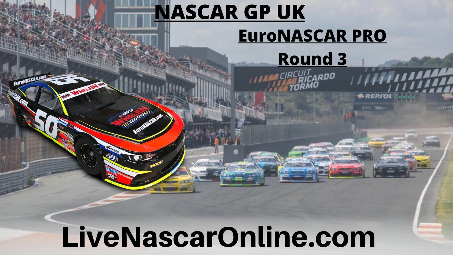 NASCAR GP UK Online Stream | Euro NASCAR PRO Round 3
