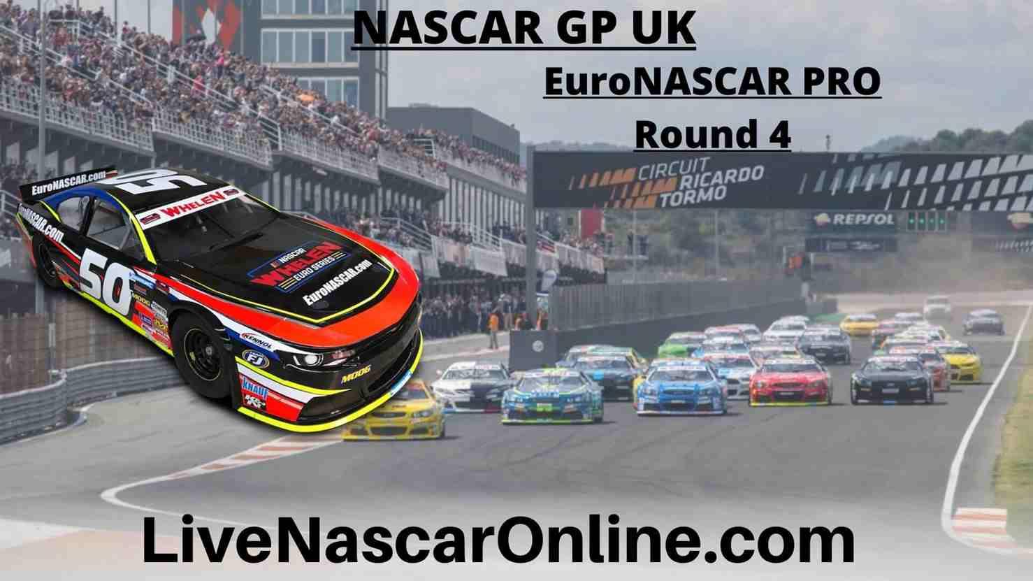 NASCAR GP UK Online Stream | Euro NASCAR PRO Round 4
