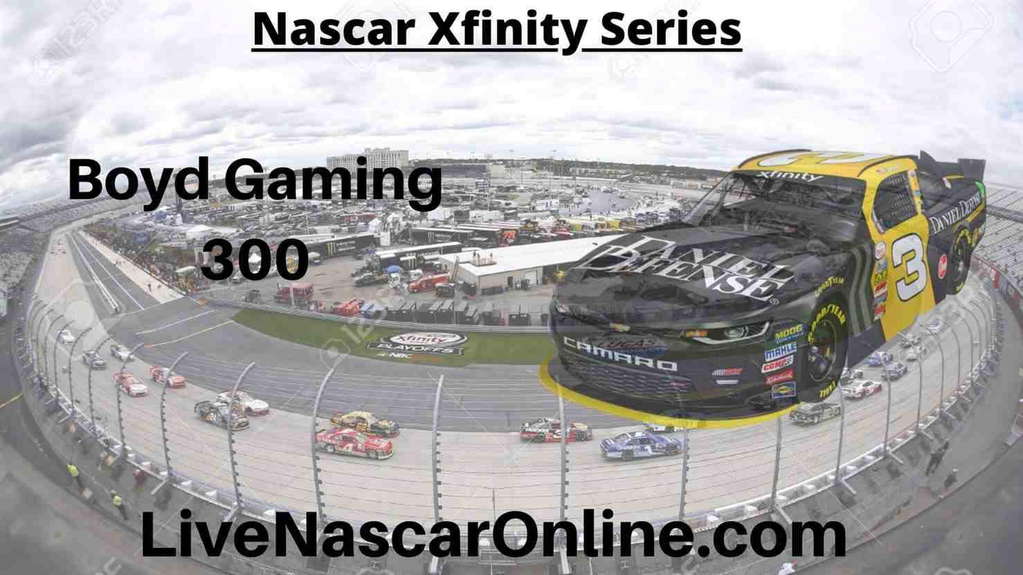 Boyd Gaming 300 Online Stream | NASCAR Las Vegas 2020