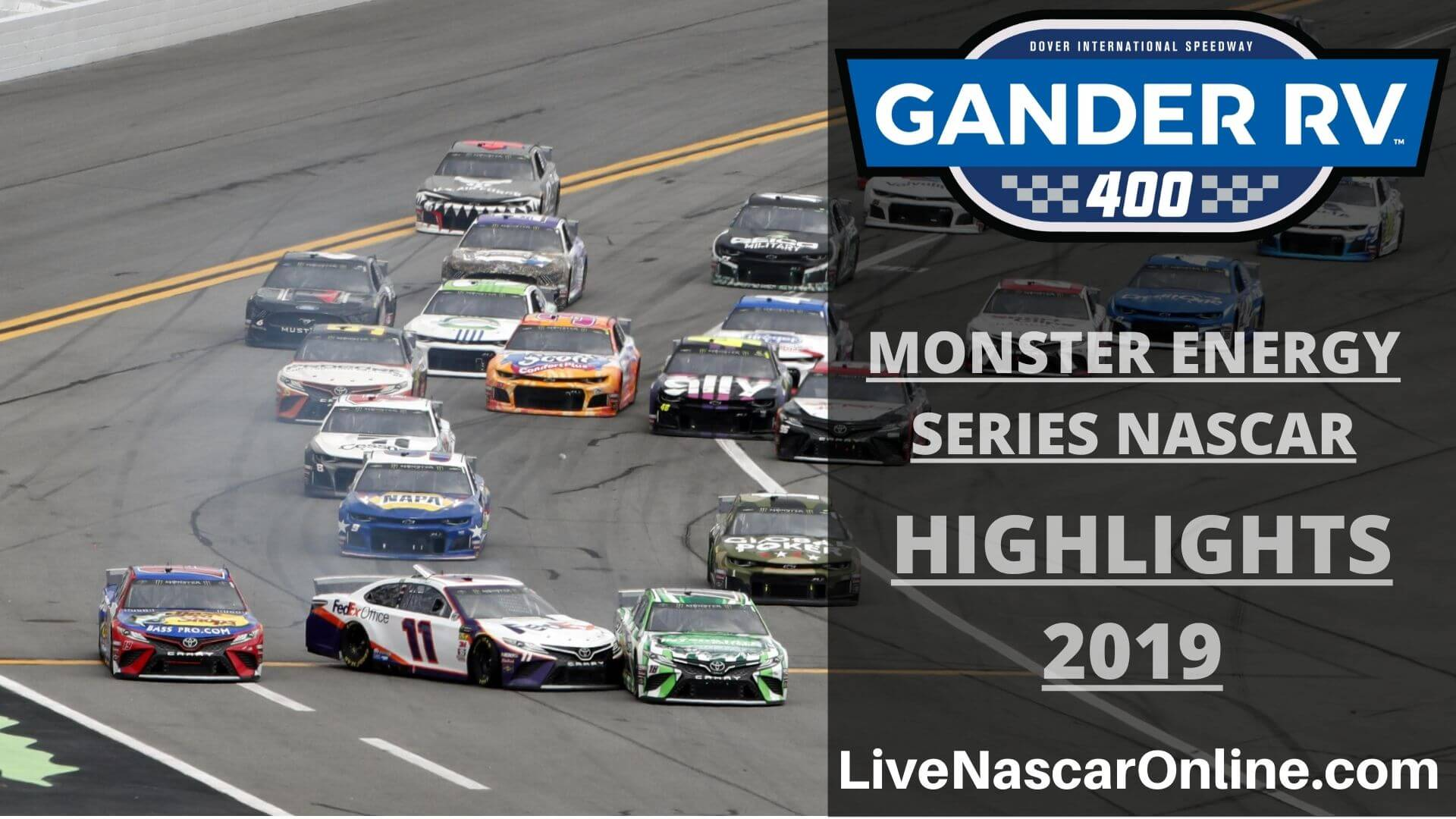 NASCAR Monster Energy Series GANDER RV 400 Highlights 2019 Online
