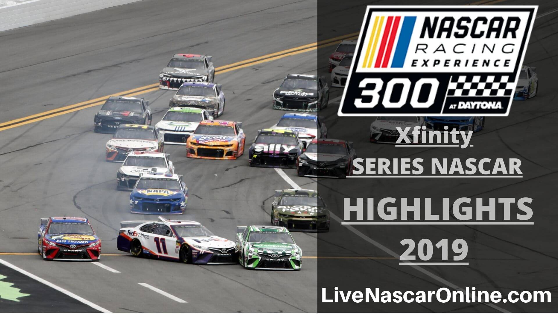 NASCAR XFINITY SERIES EXPERIENCE 300 HIGHLIGHTS 2019 Online