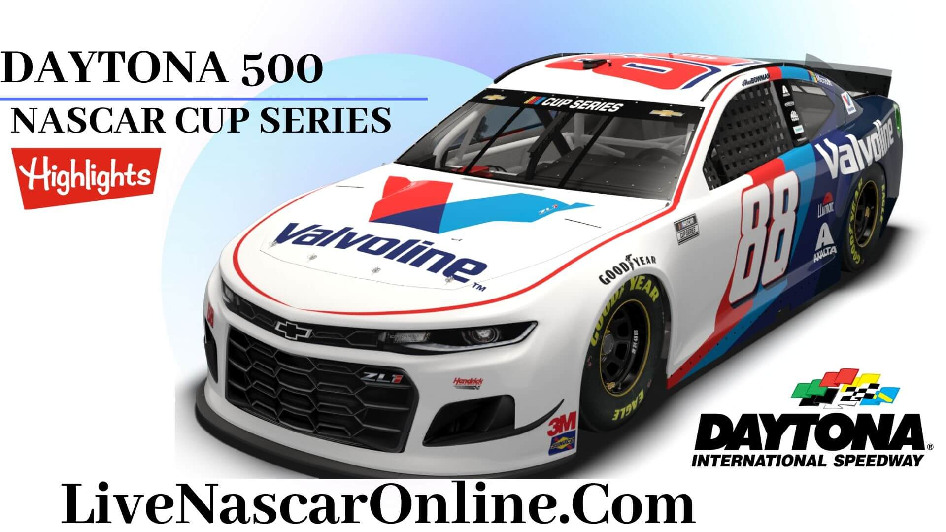 Daytona 500 Highlights 2020 Nascar Cup Series