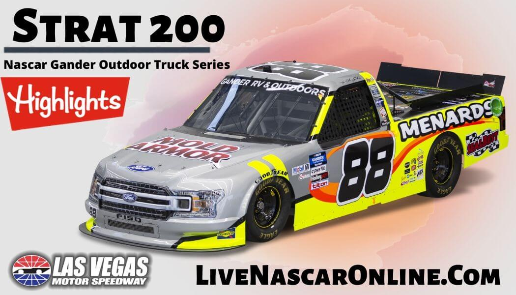 Strat 200 Highlights 2020 Nascar Truck Series