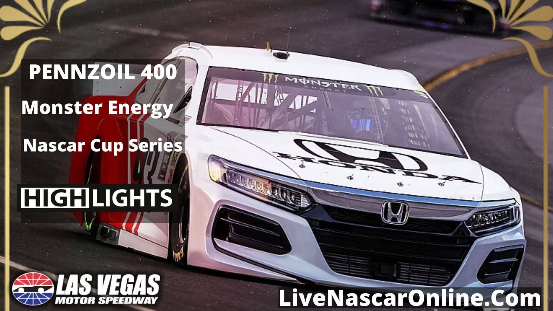 NASCAR CUP PENNZOIL 400 Highlights 2020