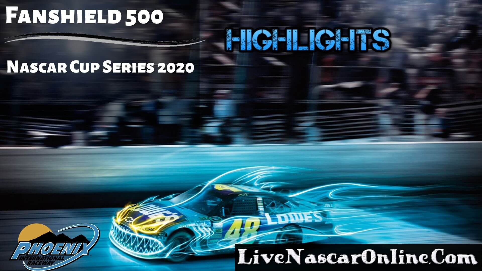 Fanshield 500 Nascar Cup Highlights 2020