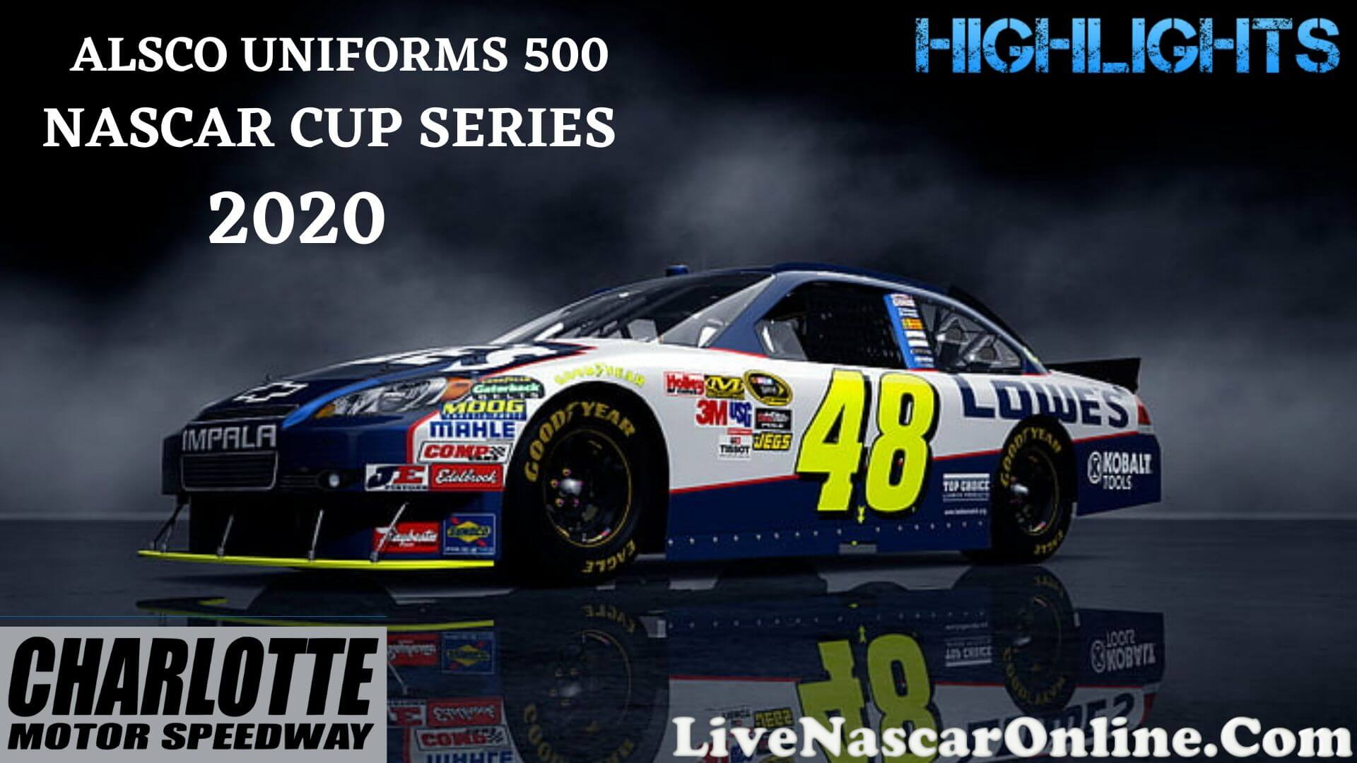 Alsco Uniforms 500 Nascar Cup Highlights 2020