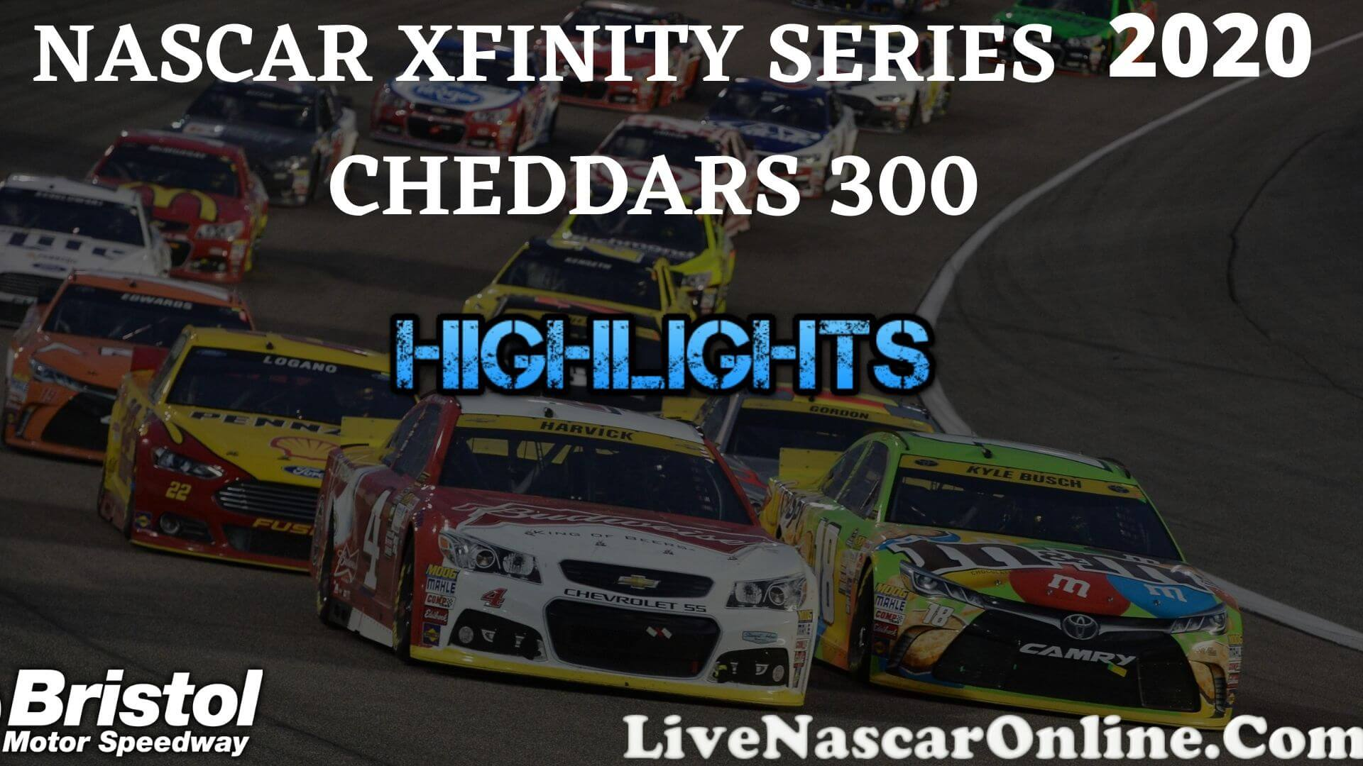 Cheddars 500 Xfinity Series Highlights 2020