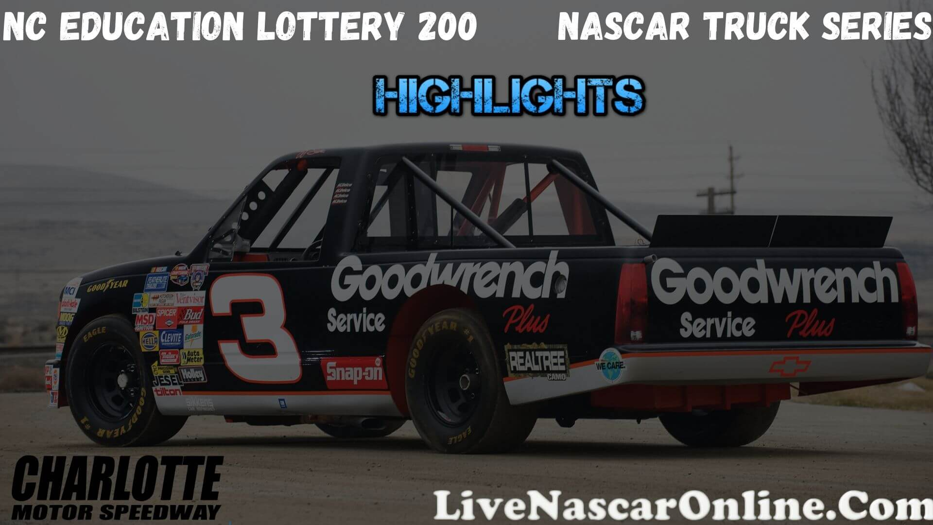 Nc Education Lottery 200 Truck Series Highlights 2020