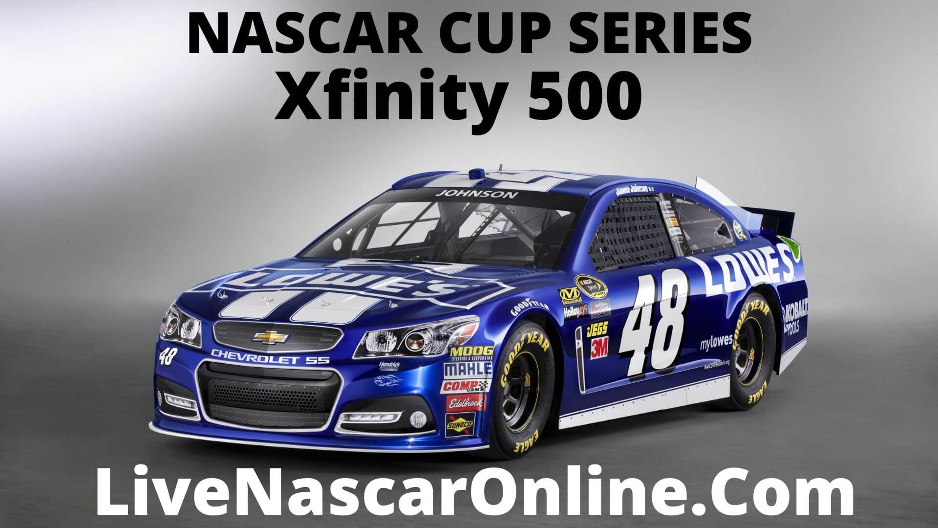 Nascar Cup Xfinity 500 at Martinsville Live Stream 2021