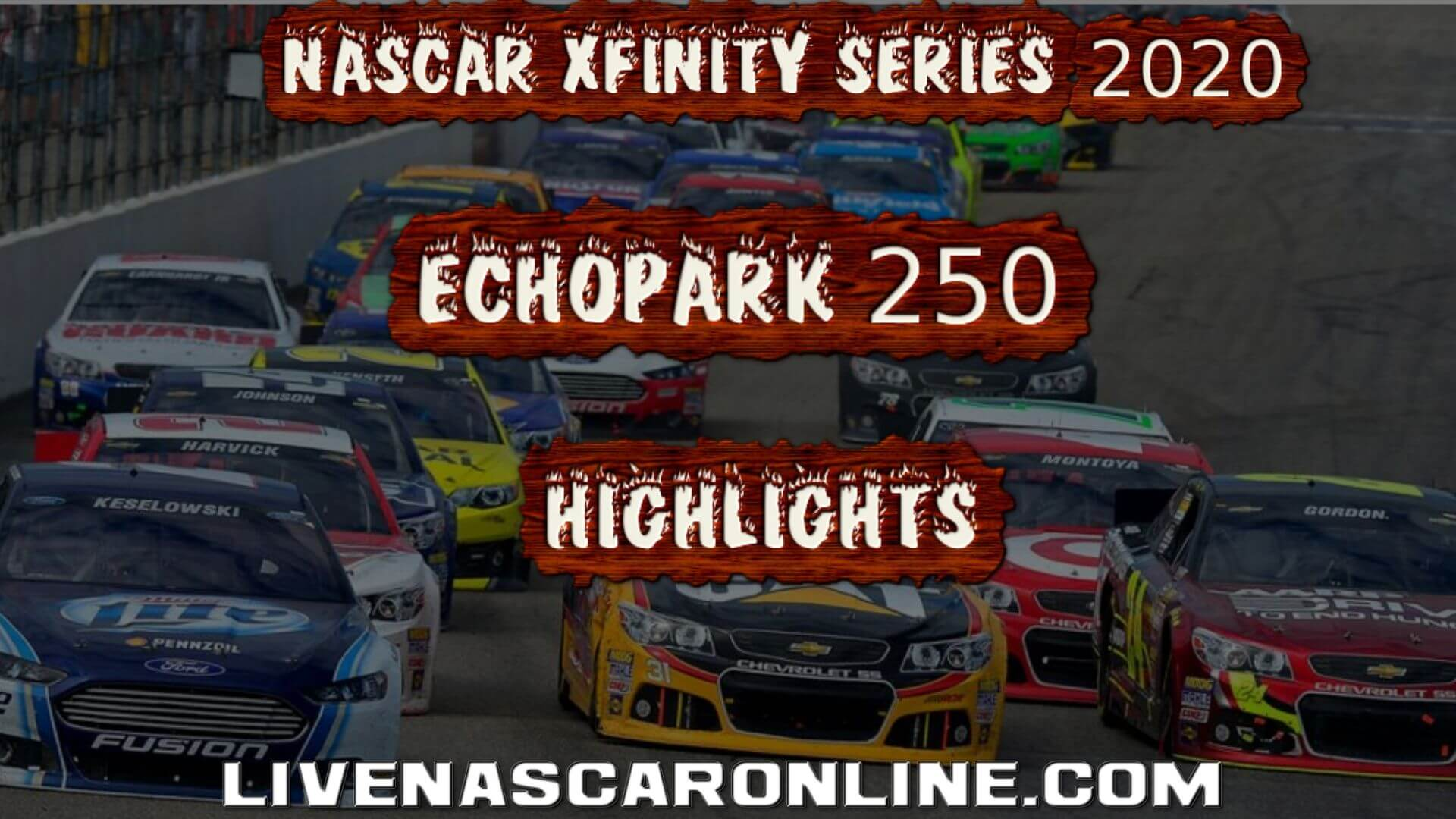 ECHOPARK 250 Xfinity Series Highlights 2020