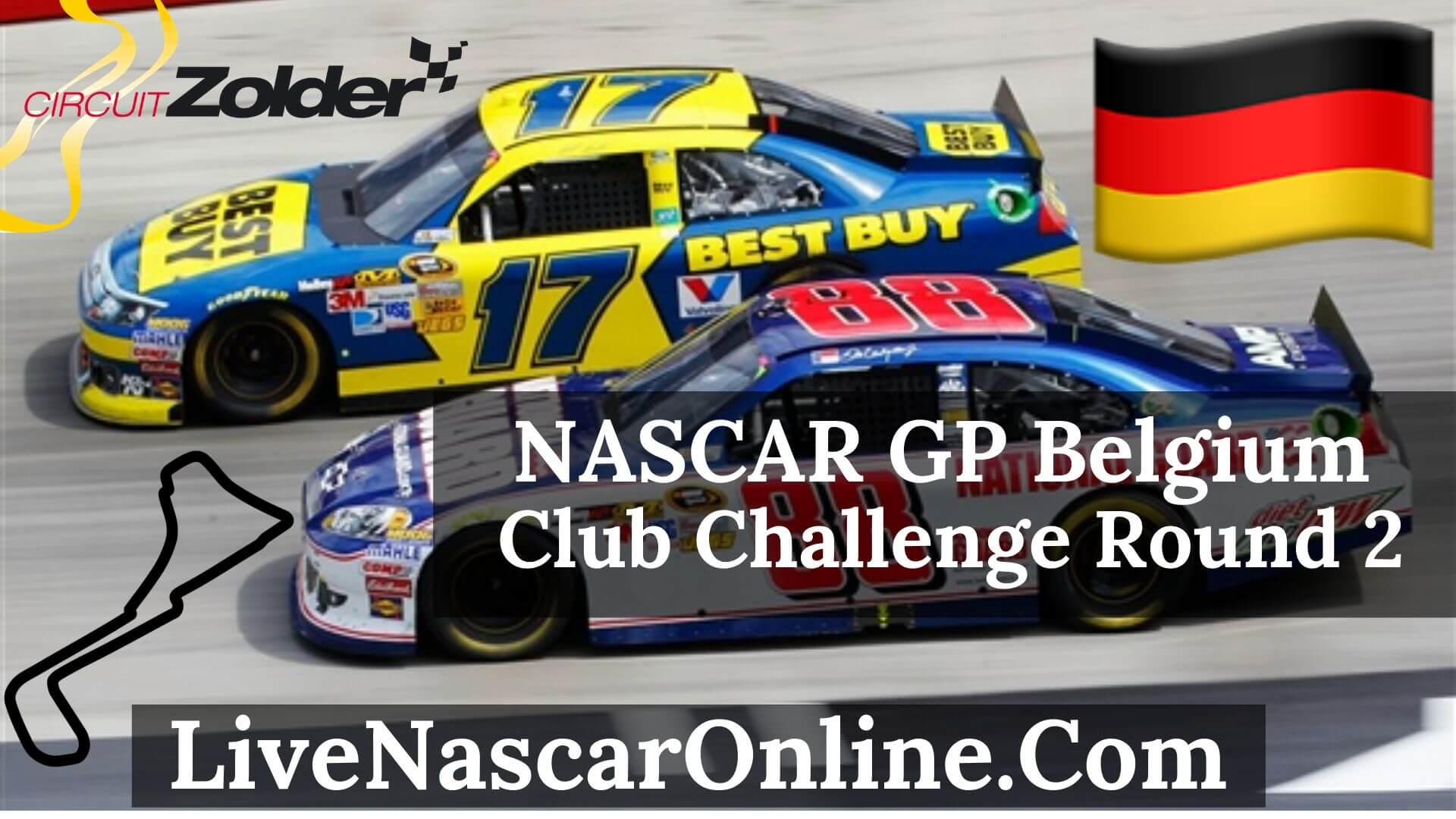 Nascar GP Belgium Club Challenge Race Live Stream 2020