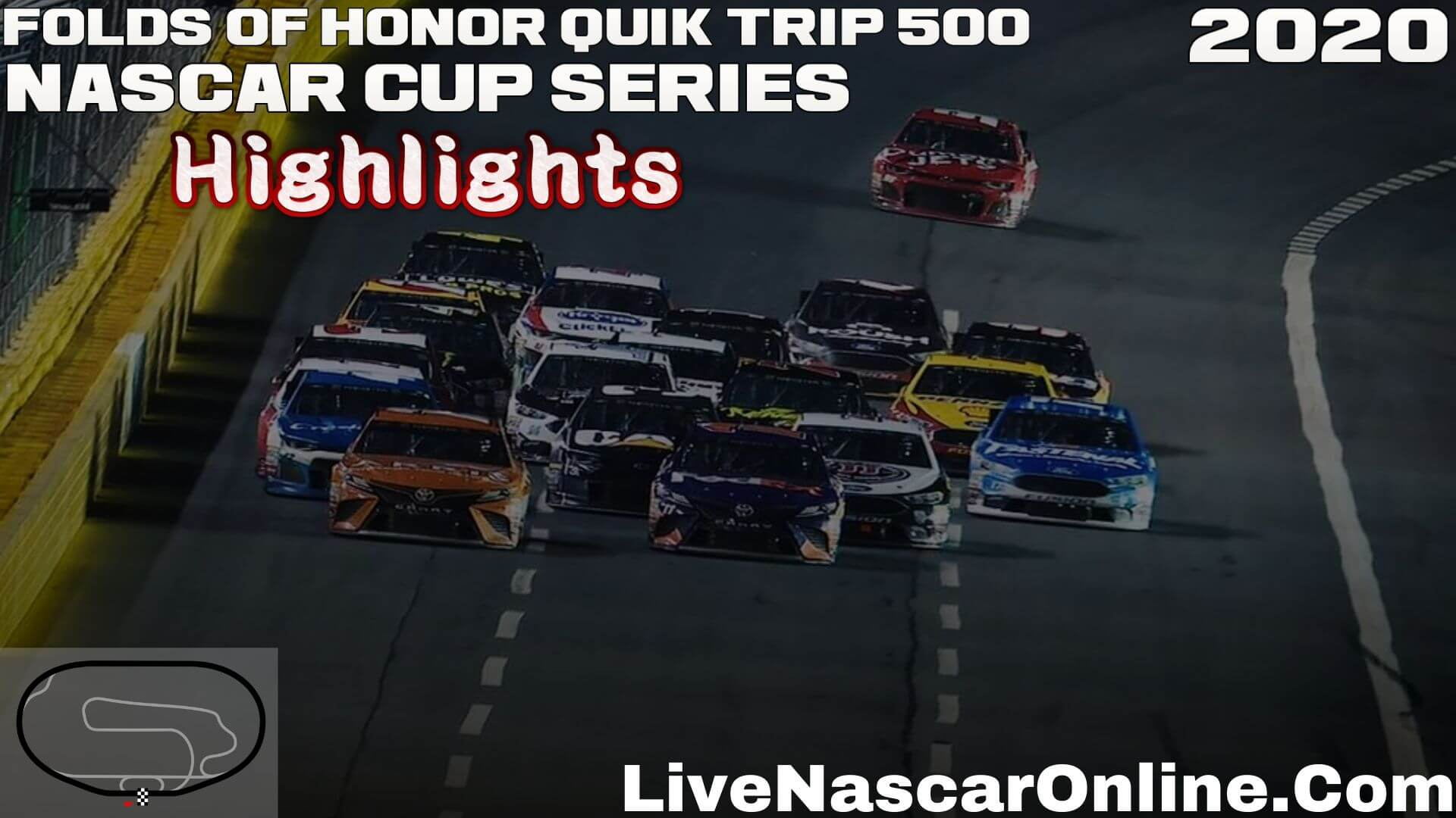 Folds of Honor Quik Trip 500 Nascar Cup Highlights 2020