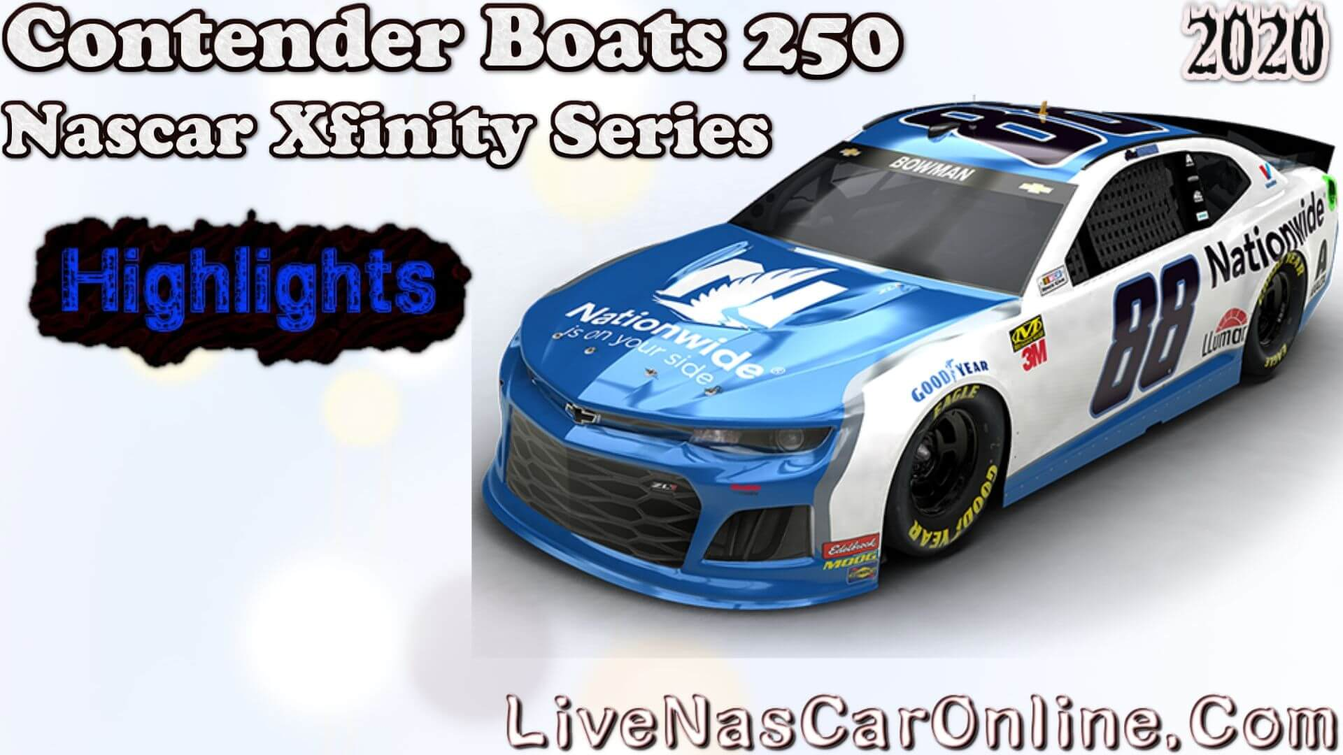 Contender Boats 250 Xfinity Series Highlights 2020