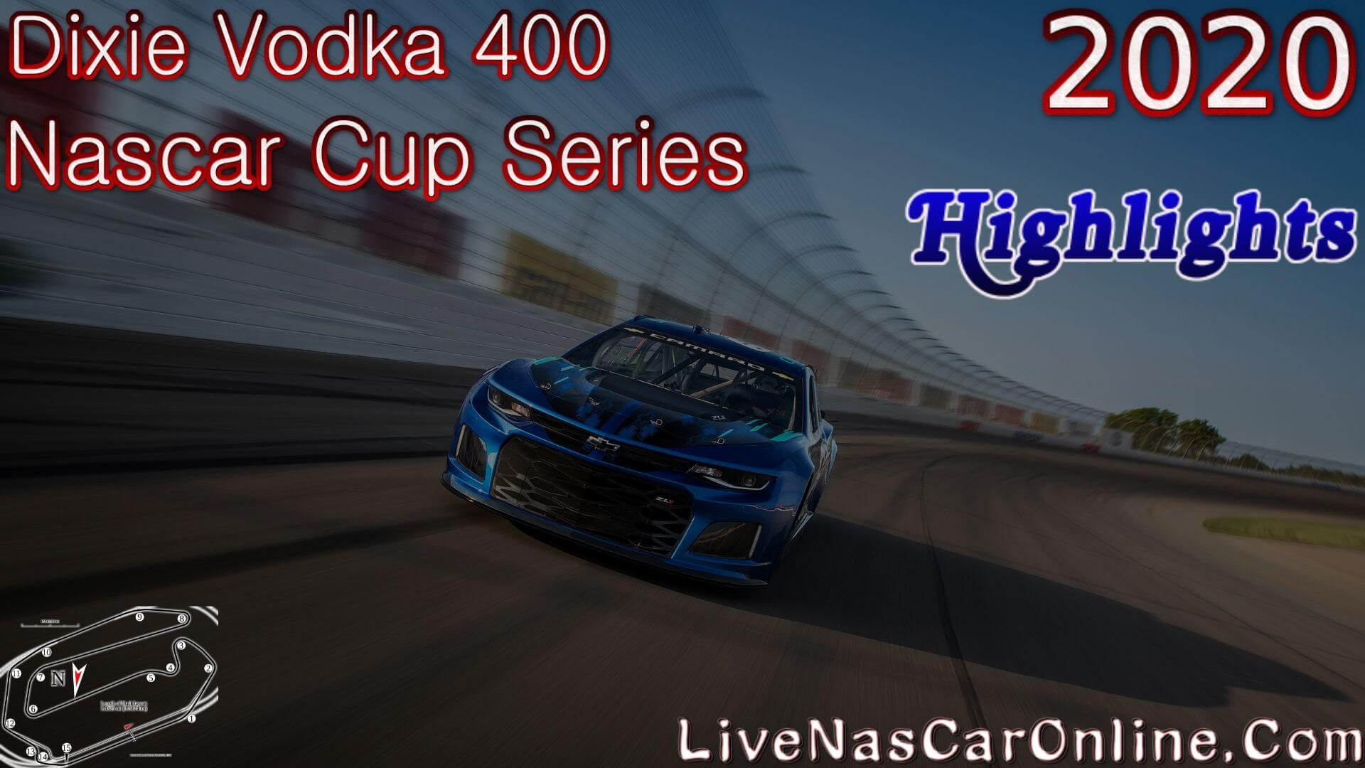 Dixie Vodka 400 Nascar Cup Highlights 2020