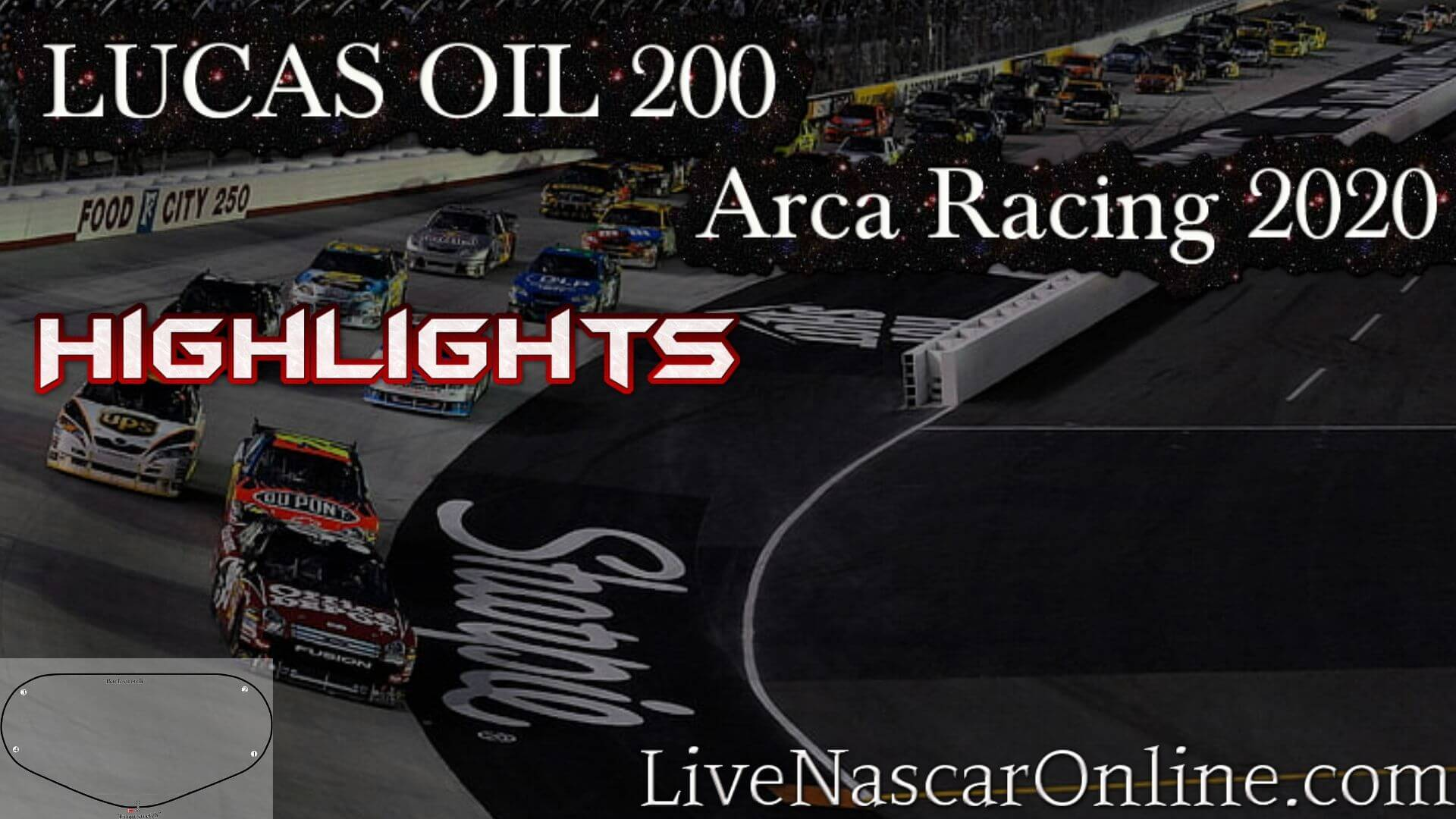 LUCAS OIL 200 Arca Racing Highlights 2020