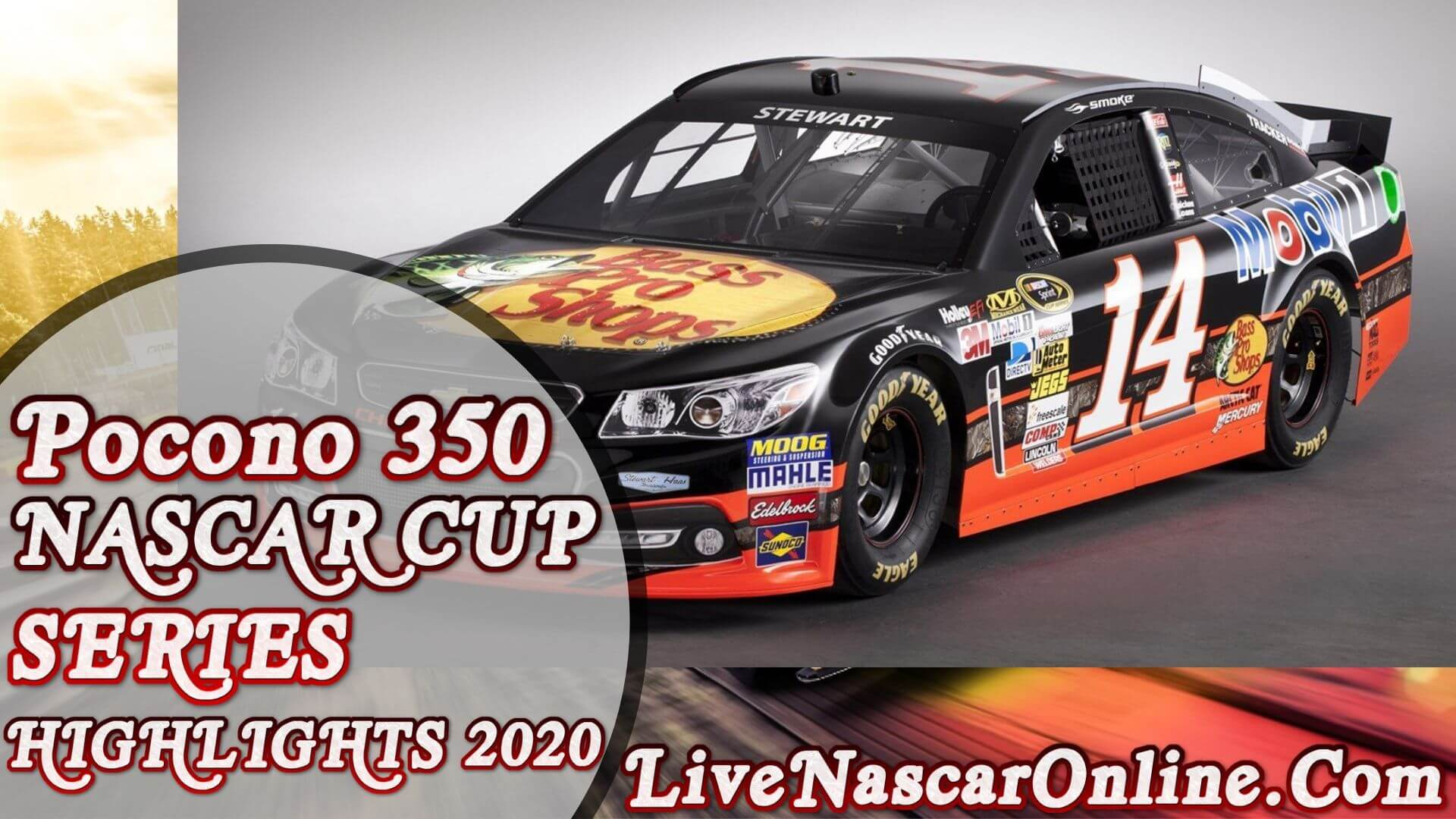 Pocono 350 NASCAR Cup Series Highlights 2020