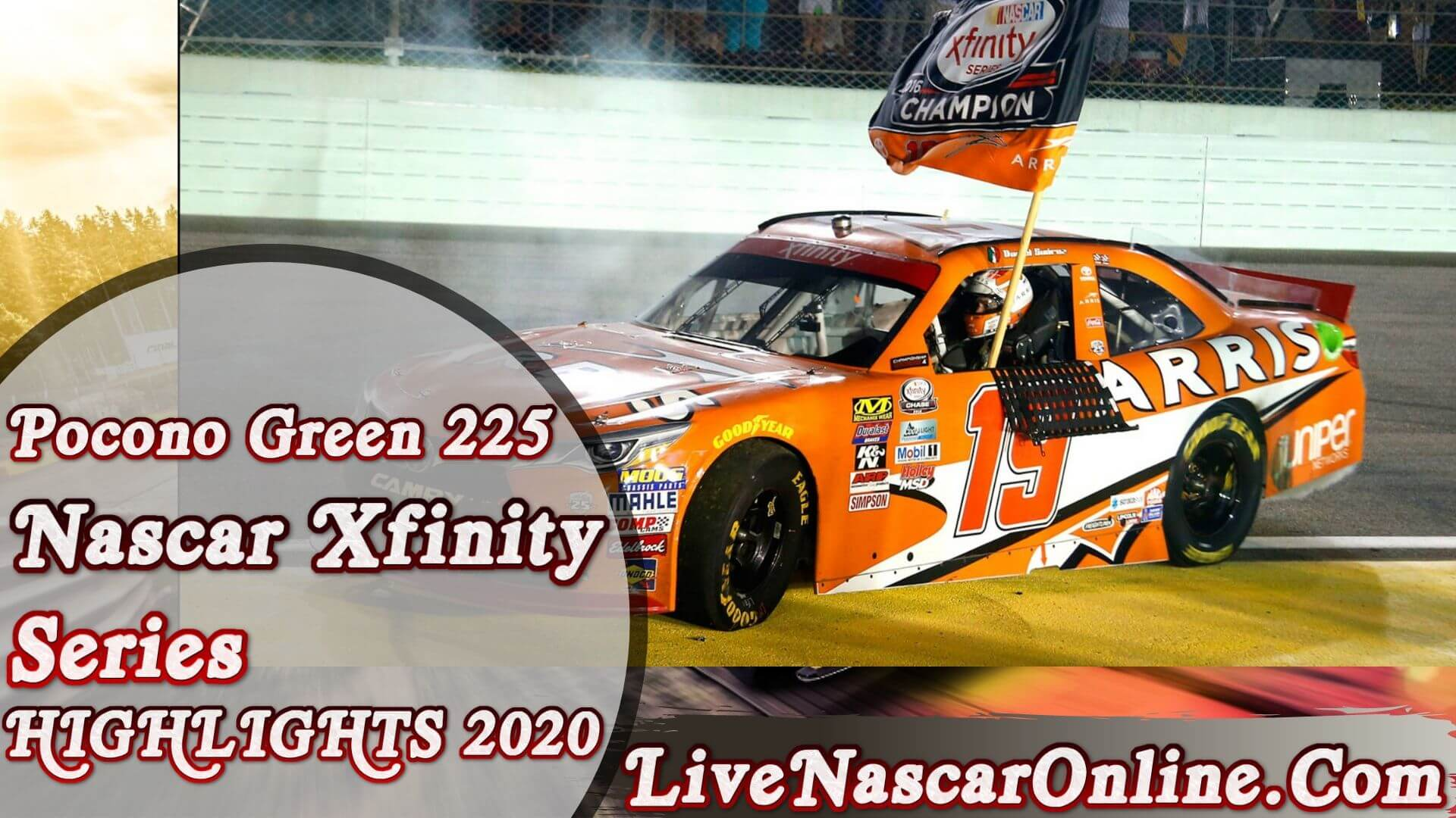 Pocono Green 225 Nascar Xfinity Series Highlights 2020