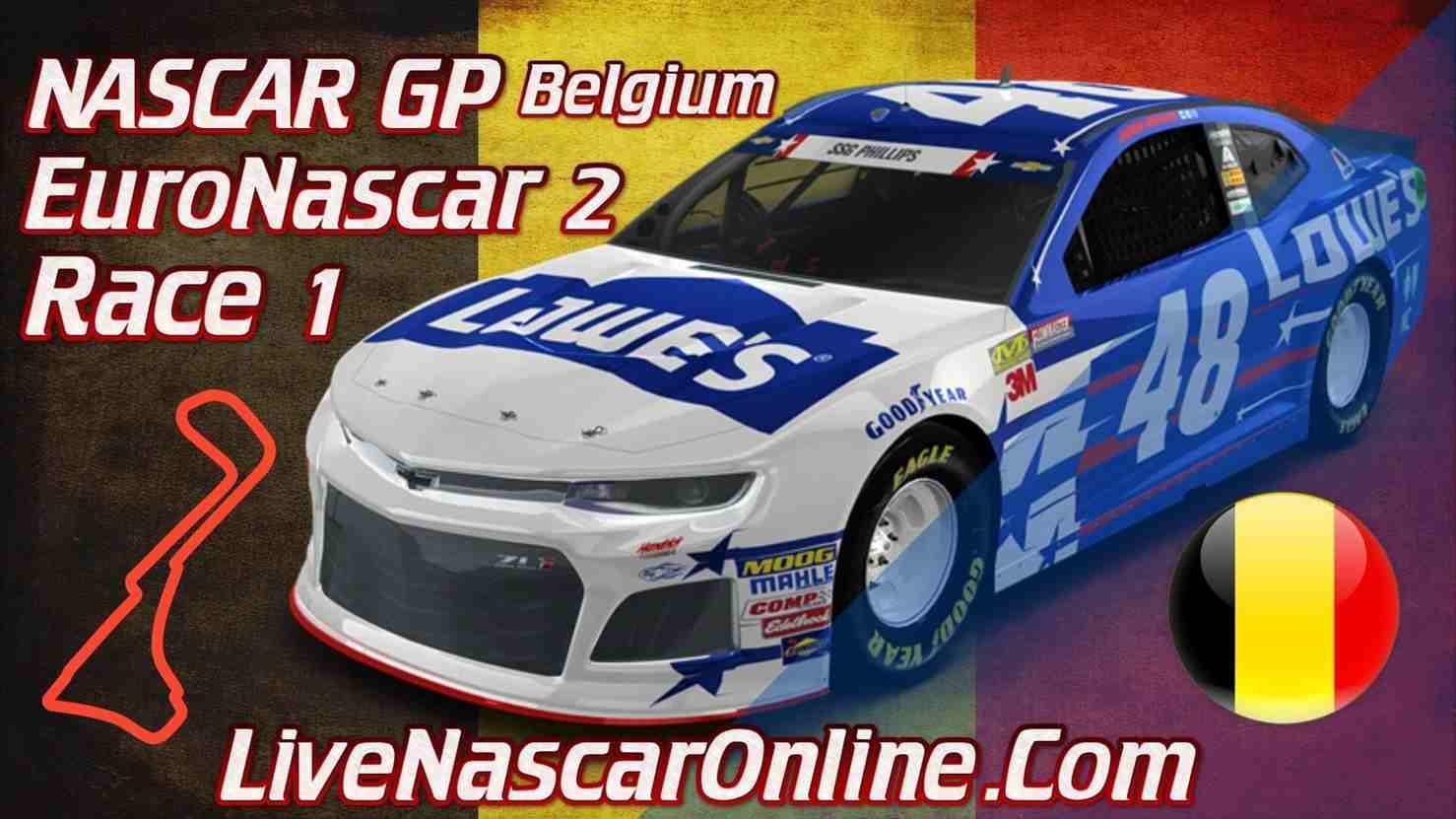 NASCAR GP Belgium Live Stream Euro NASCAR 2 Race 1