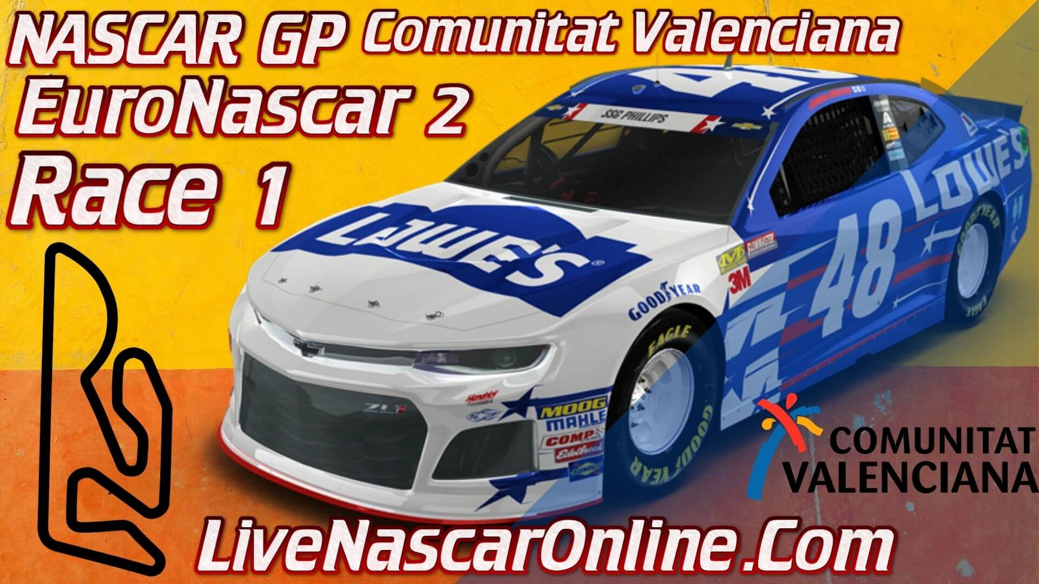 NASCAR GP Comunitat Valenciana Live Stream   Euro NASCAR 2 Race 1