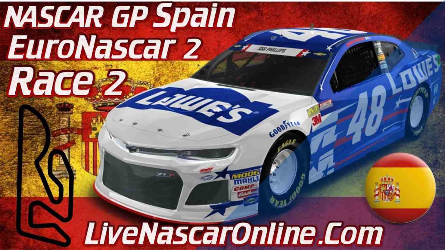 NASCAR GP Spain Live Stream   Euro NASCAR 2 Race 2