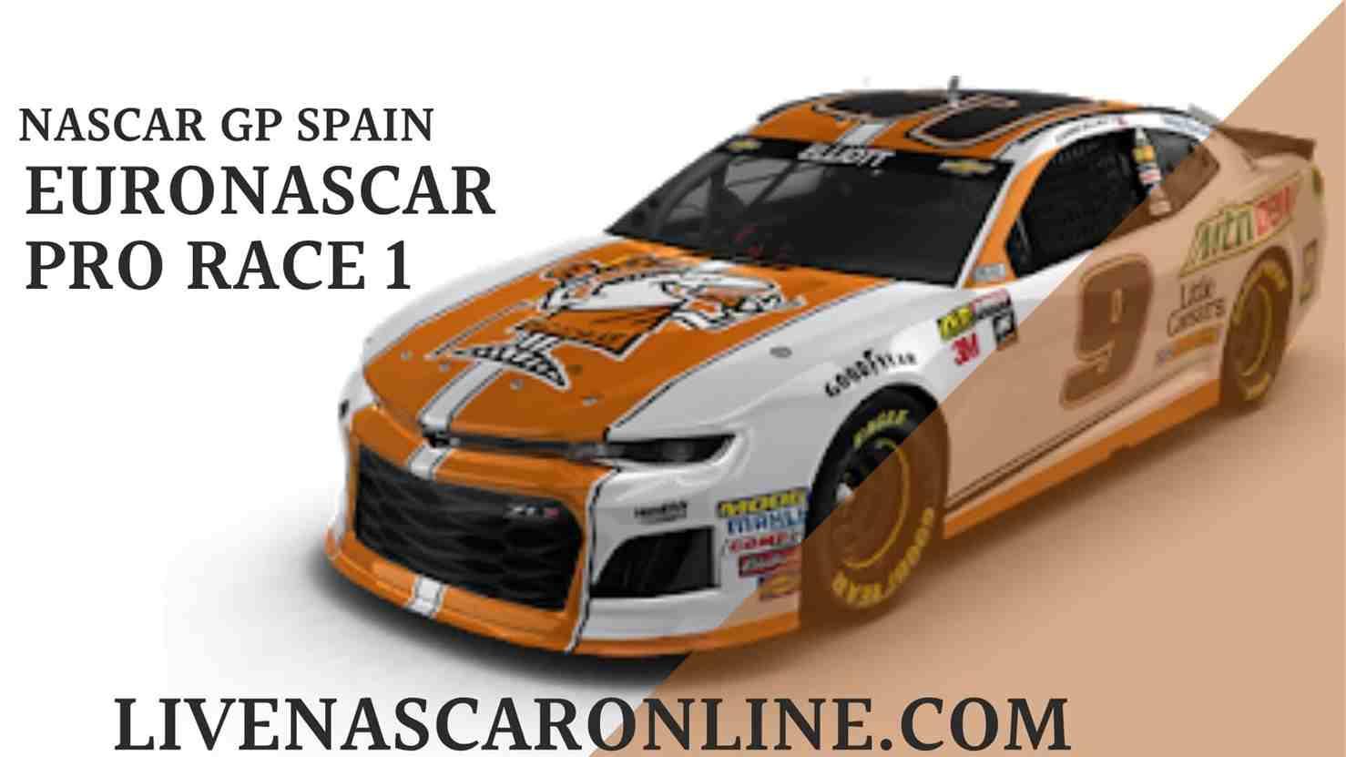NASCAR GP Spain Live Stream   Euro NASCAR PRO Race 1