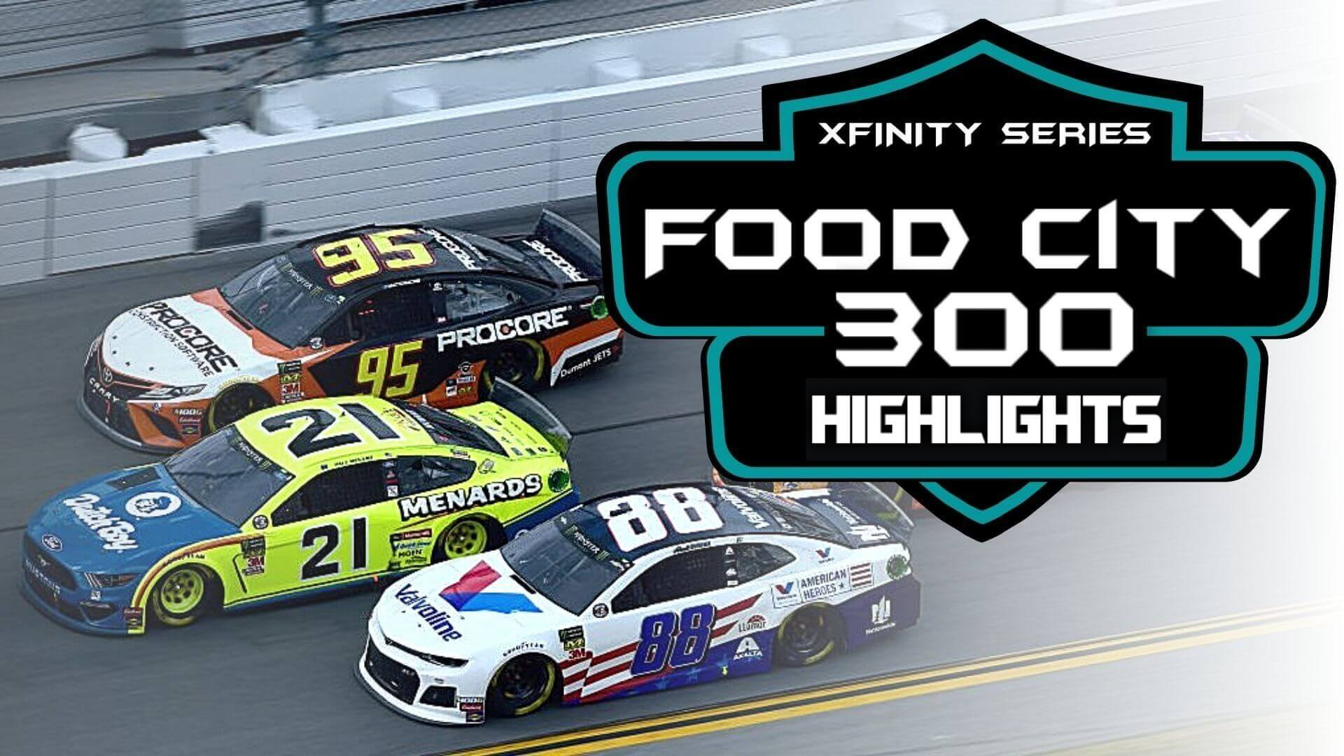 Food City 300 Highlights 2020 Nascar Xfinity Series
