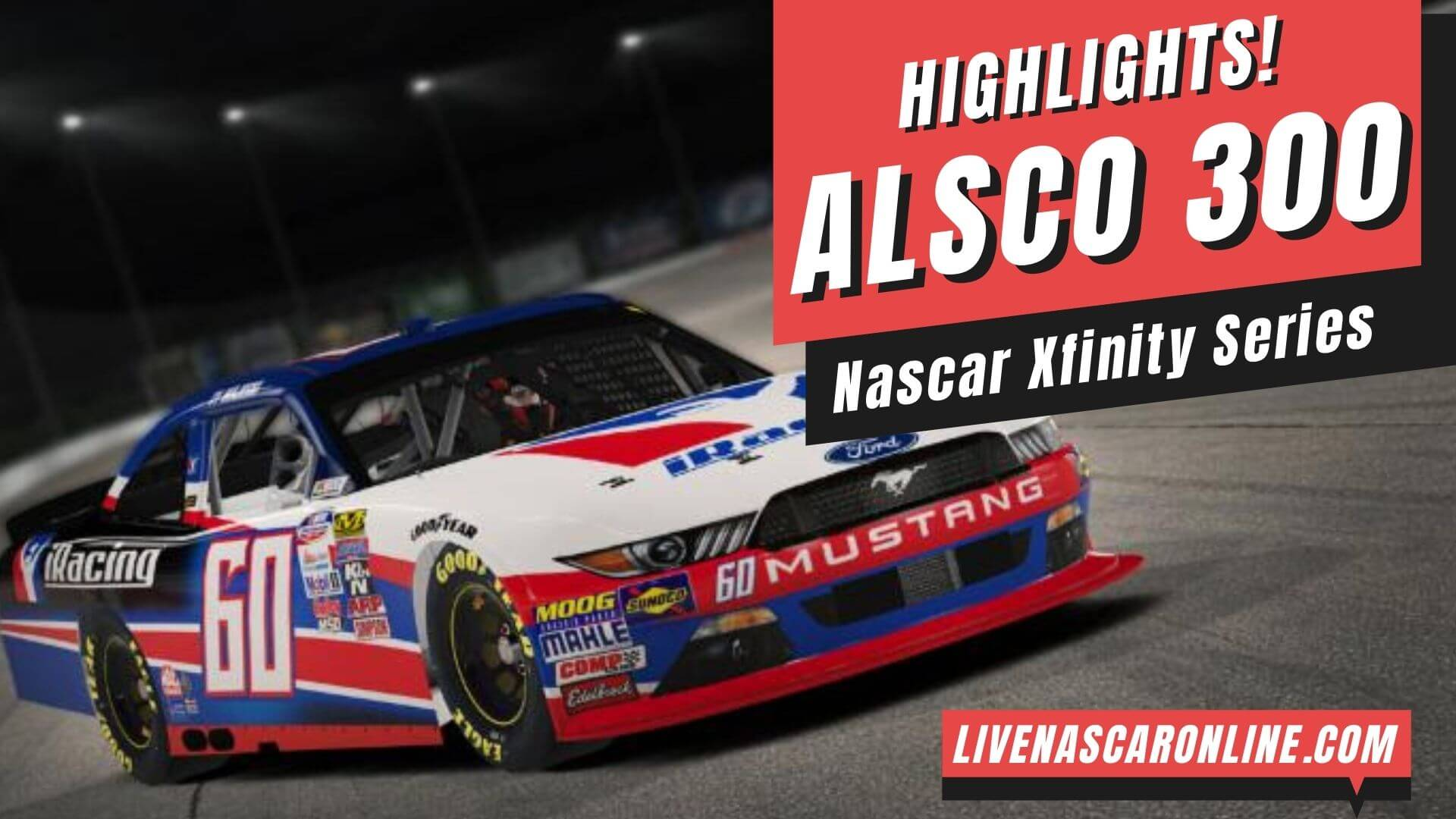 Alsco 300 Highlights 2020 Nascar Xfinity Series
