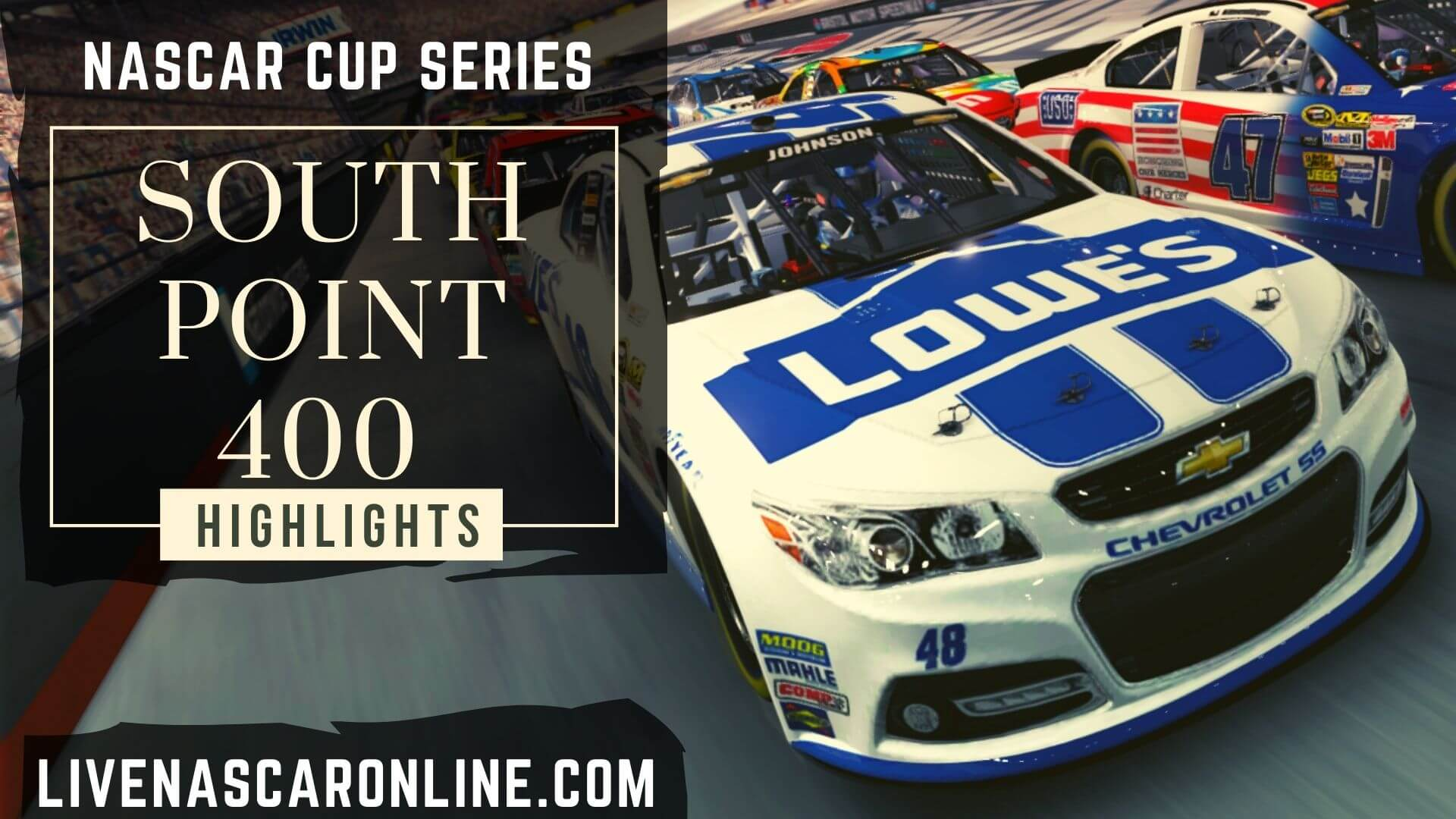 South Point 400 Highlights 2020 Nascar Cup Series