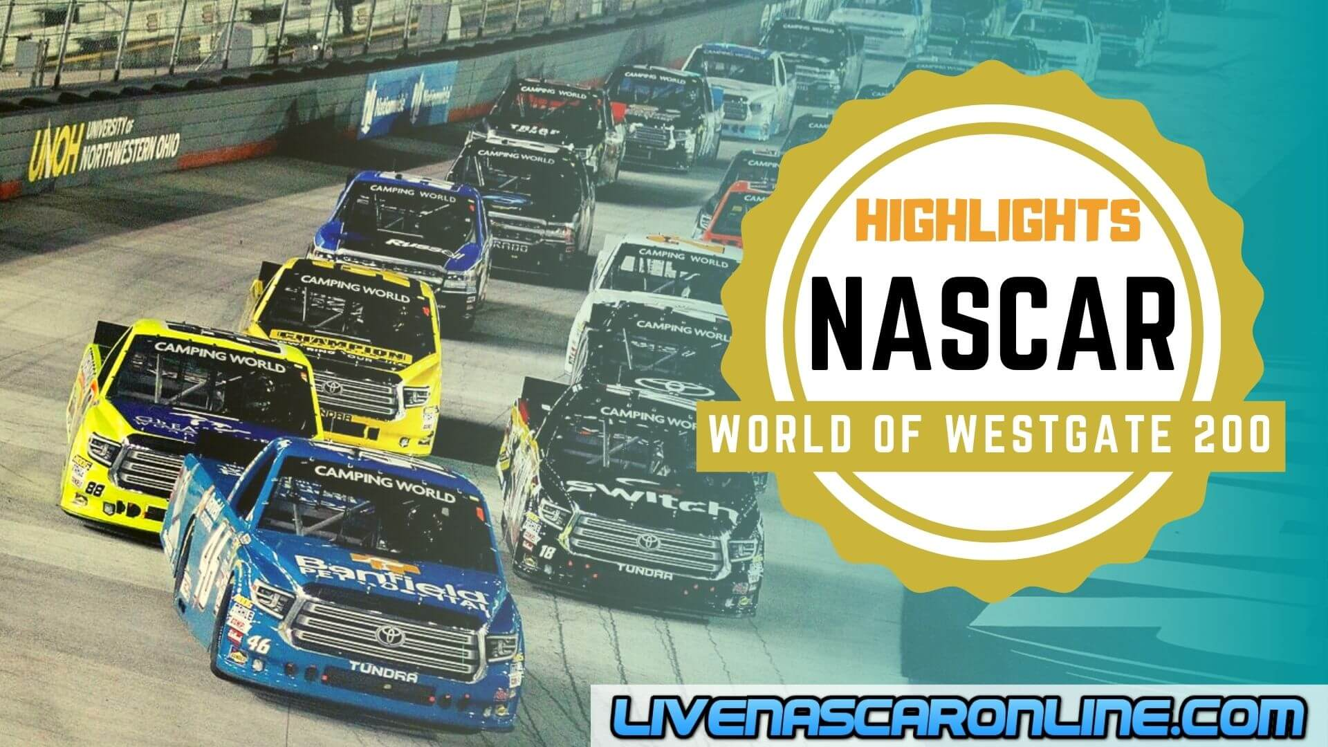 World Of Westgate 200 Highlights 2020 Nascar Truck Series