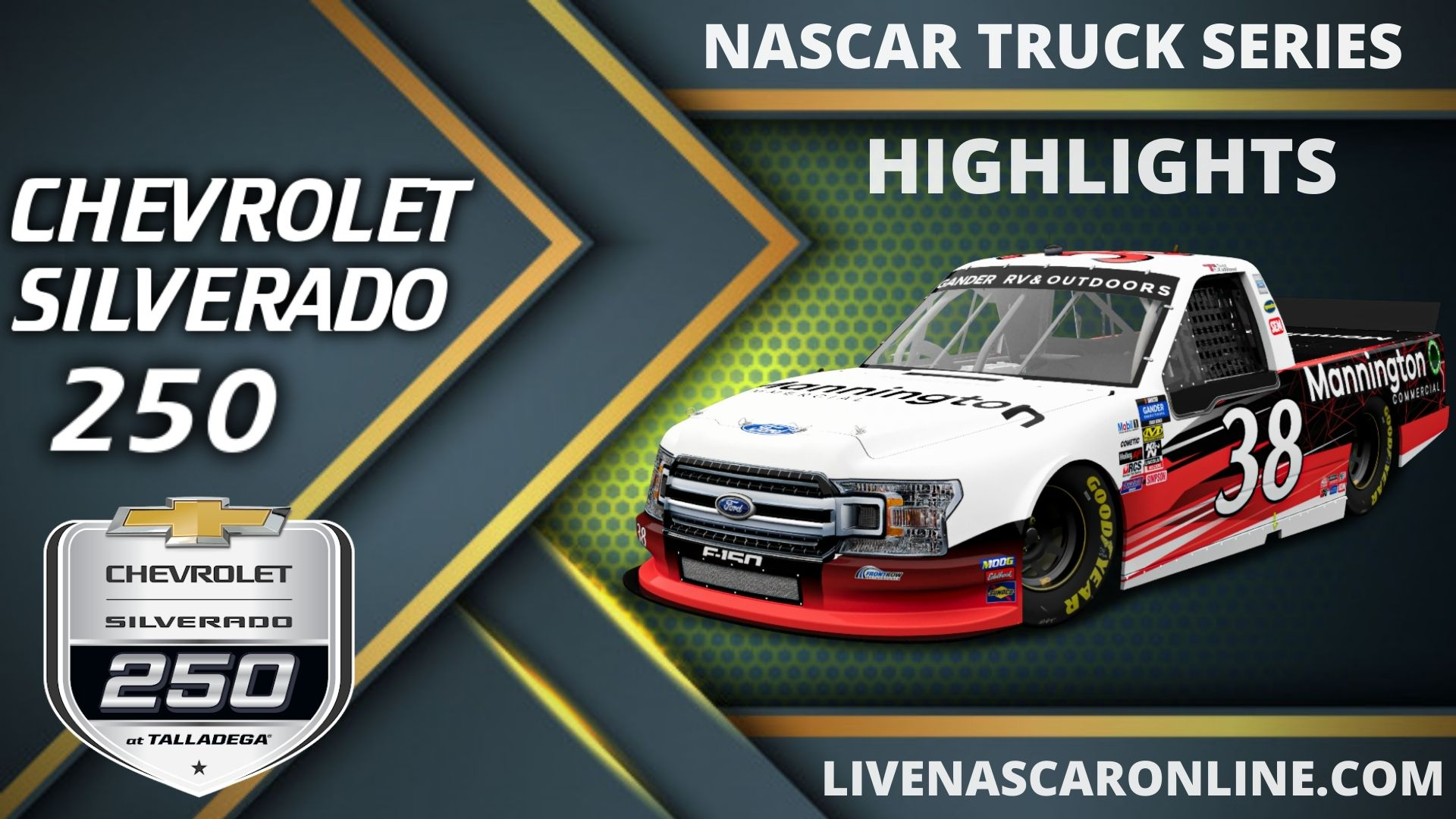 Chevrolet Silverado 250 Highlights 2020 Nascar Truck Series