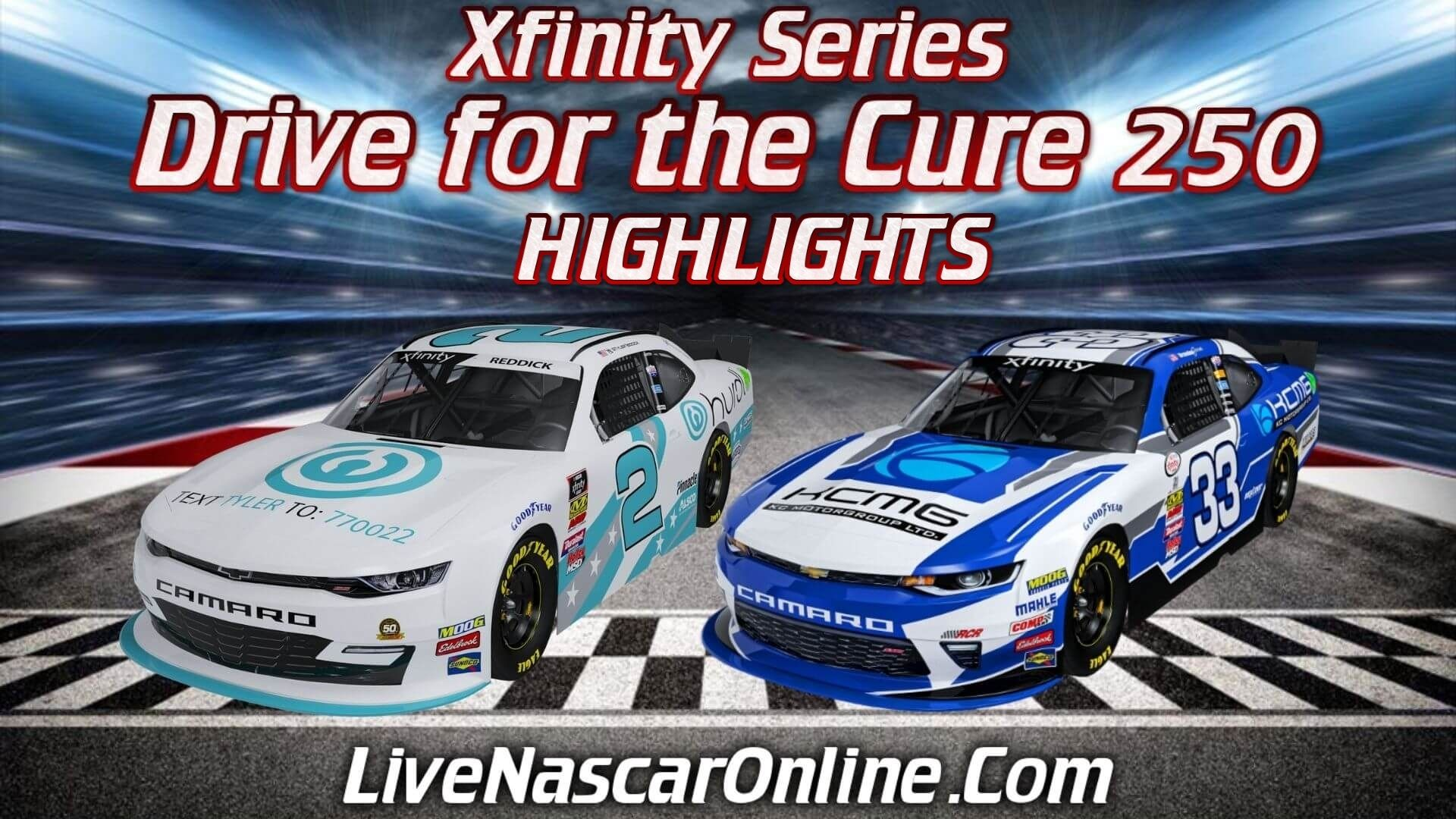 Drive for the Cure 250 Highlights 2020 Nascar Xfinity Series
