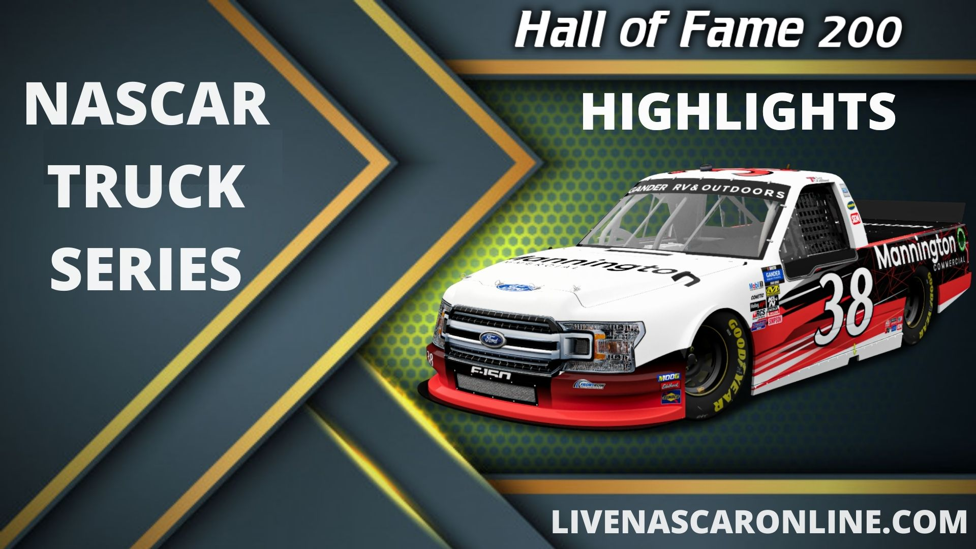 Hall of Fame 200 Highlights 2020 Truck Series