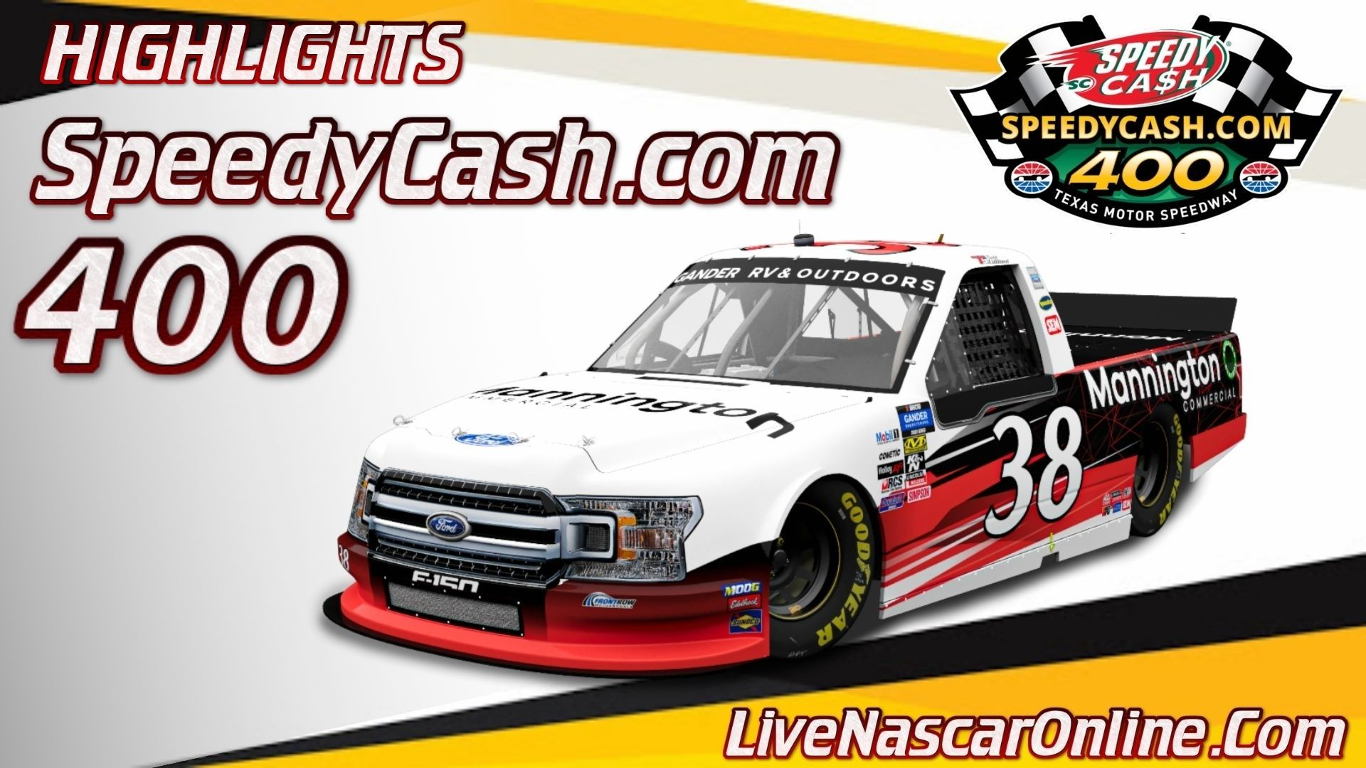 SpeedyCash com 400 Highlights 2020 Truck Series
